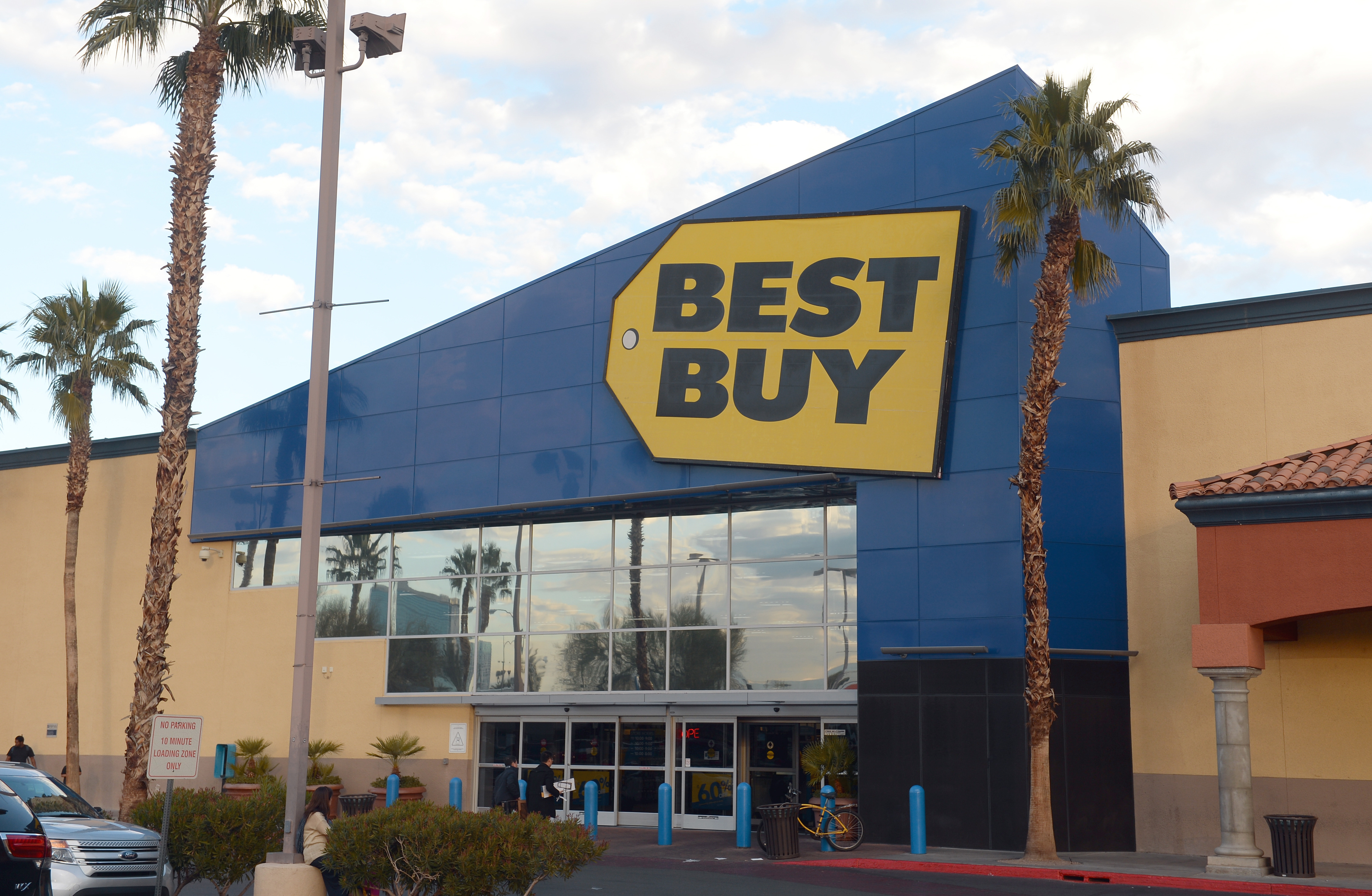 A Best Buy store in Las Vagas.