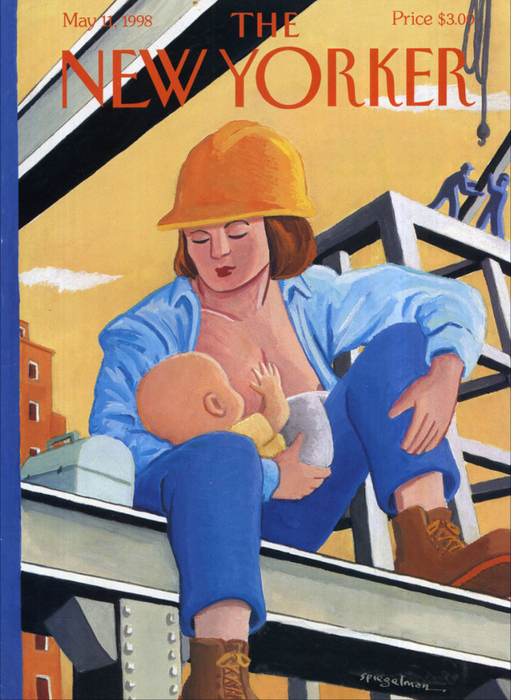 The May 11, 1998 issue of the <i>New Yorker</i>, celebrating Mother's Day at a time when women in the work force was a hot topic.