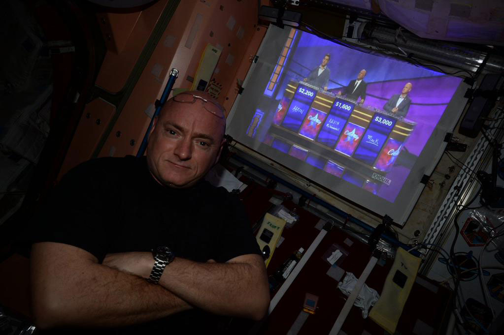 """Watching my bro @ShuttleCDRKelly on #CelebrityJeopardy onboard @Space_Station this morning. Great job representing!"" - <a href=""https://twitter.com/StationCDRKelly/status/599193552158138369"" target=""_blank"">via Twitter</a> on May 15, 2015"