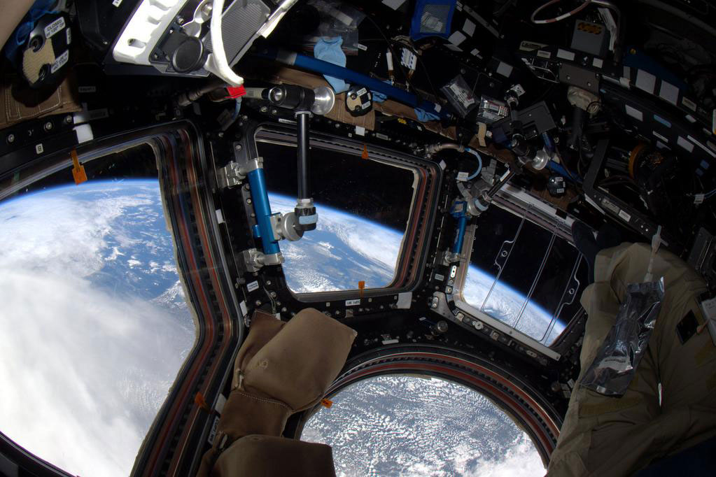 """#SaturdayMorning #coffee with my old friend #PlanetEarth. #YearInSpace"" - <a href=""https://twitter.com/StationCDRKelly/status/594486406308876288"" target=""_blank"">via Twitter</a> on May 2, 2015"