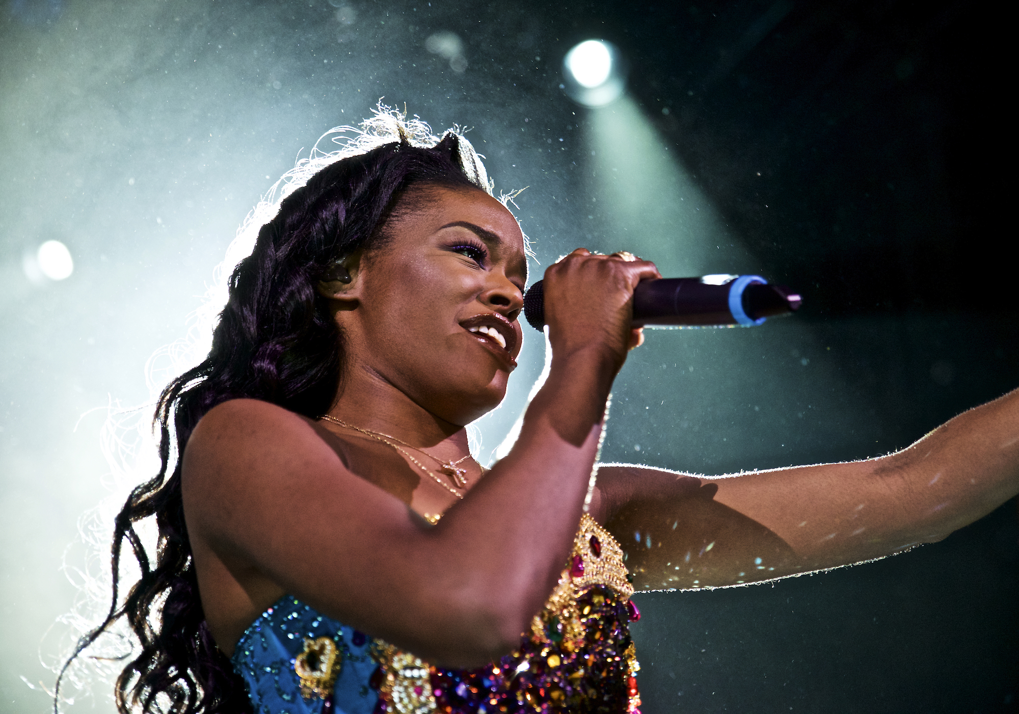 Azealia Banks performs in concert at Irving Plaza on May 11, 2015, in New York.