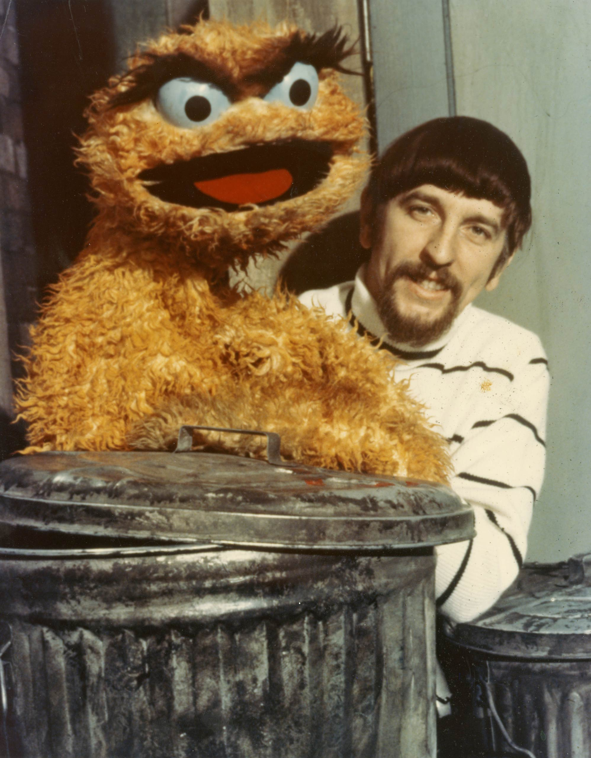 In the first year of <i>Sesame Street</i>, Oscar the Grouch was orange.