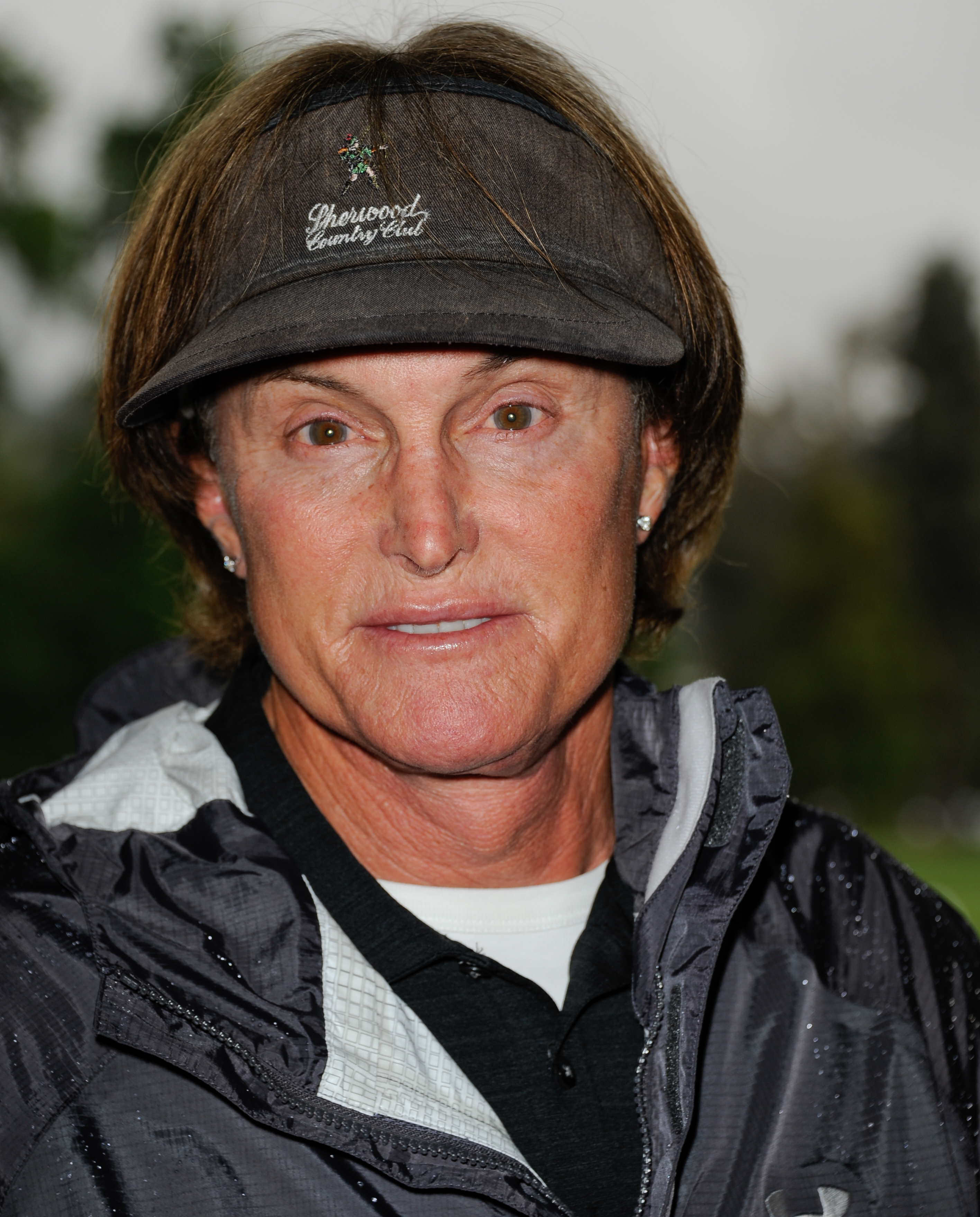 In this May 6, 2013 file photo, former Olympic athlete Bruce Jenner arrives at the 6th Annual George Lopez Celebrity Golf Classic at the Lakeside Golf Club in Toluca Lake, Calif.
