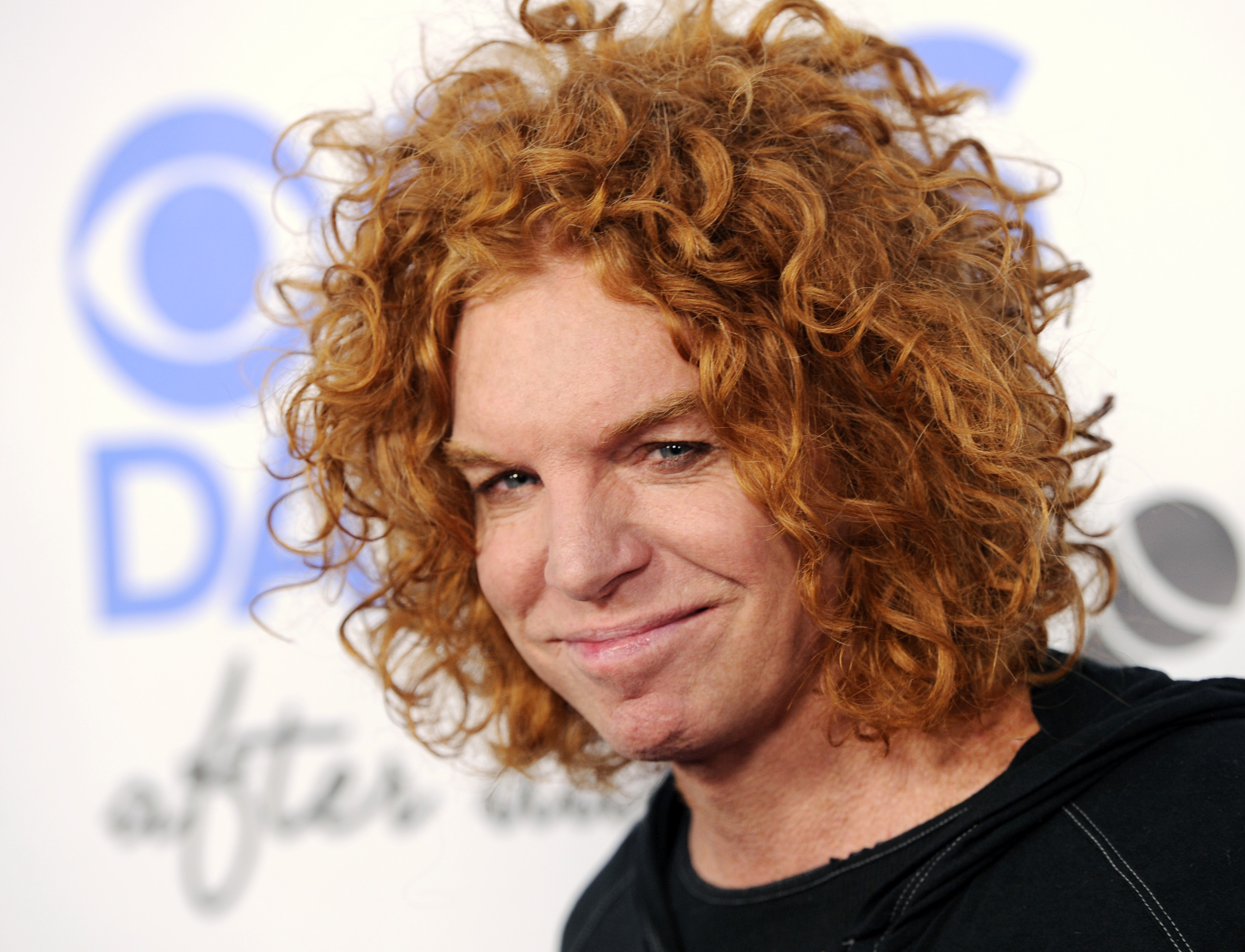 Comedian Carrot Top arrives at the CBS Daytime After Dark comedy event at The Comedy Store on Oct. 8, 2013 in West Hollywood, Calif.
