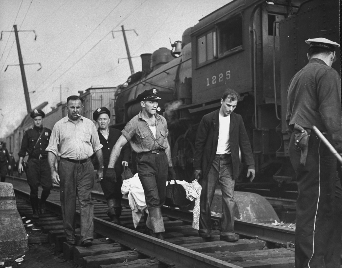 After the Congressional Limited train wreck in 1943