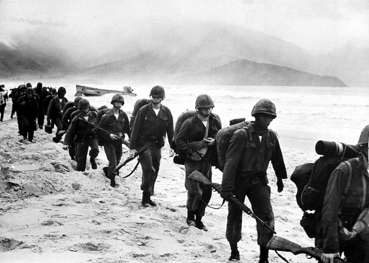 US Marines landing in Da Nang in 1965