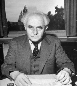 1st Prime Minister of Israel, David Ben Gurion. | TIME