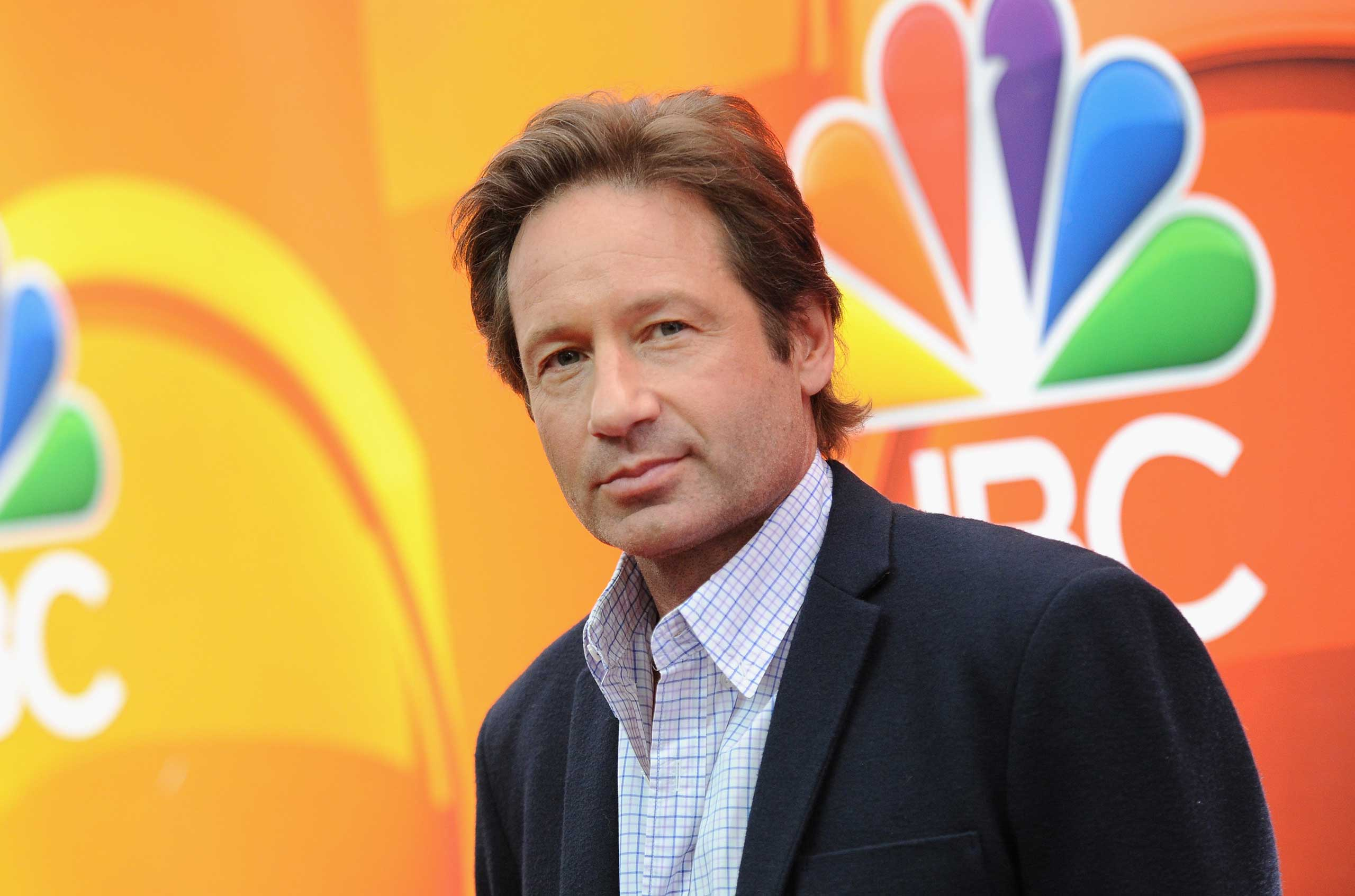David Duchovny at Radio City Music Hall in New York on May 11, 2015.