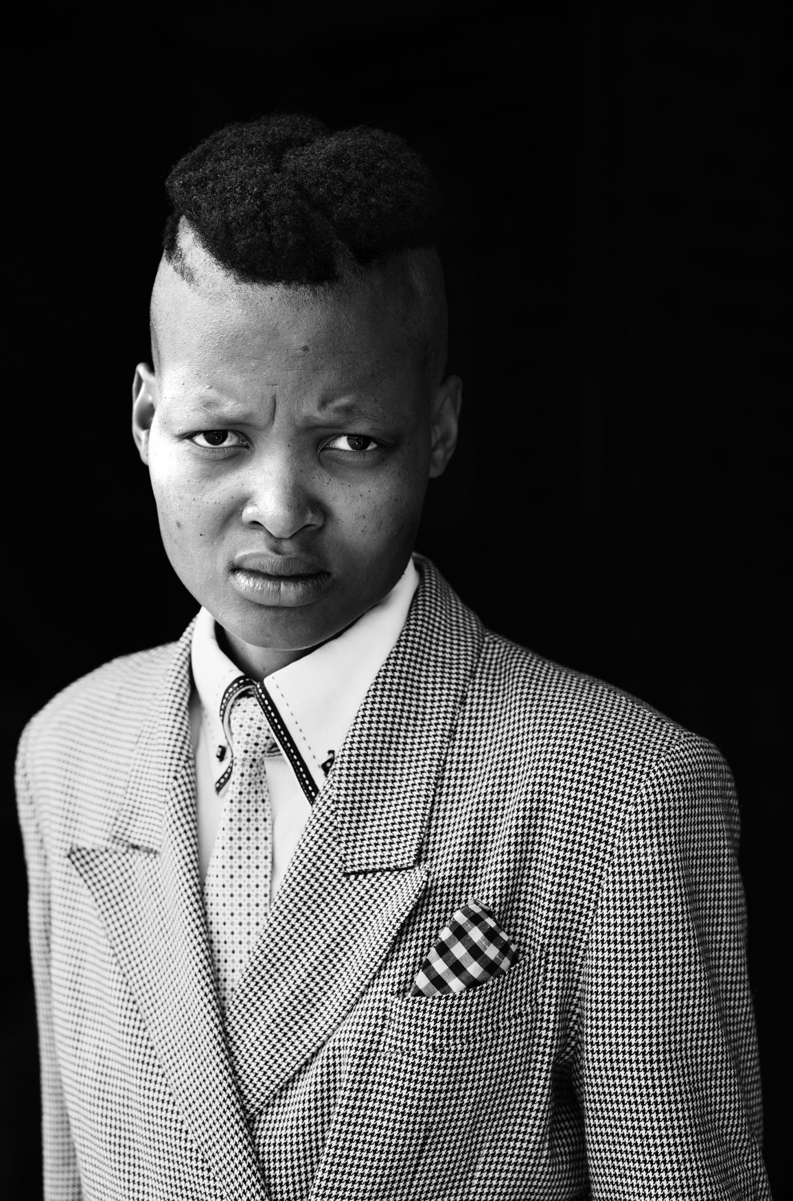 Vuyelwa Vuvu Makubetse, Daveyton, Johannesburg. From the series Faces and Phases, 2013.