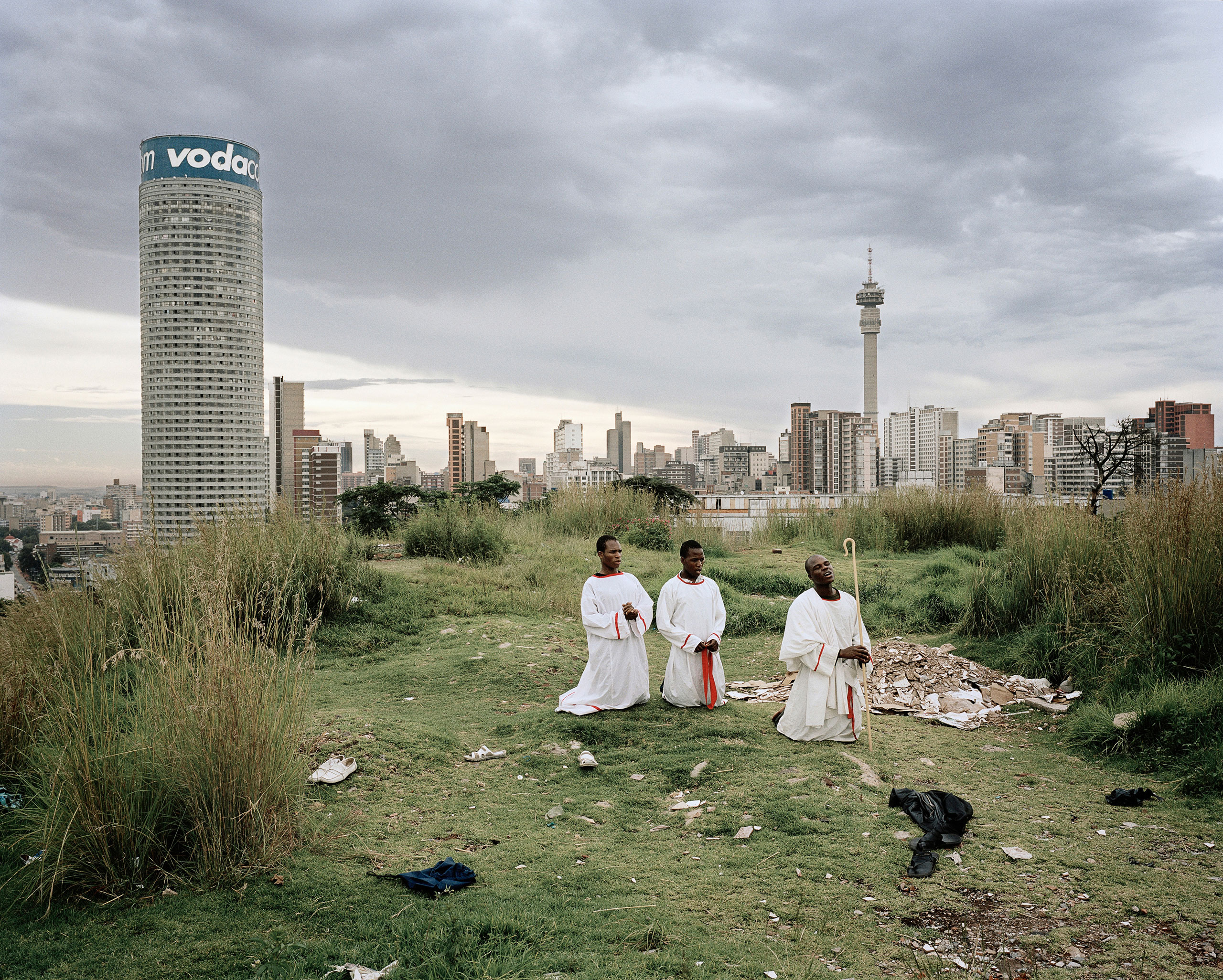 Ponte City from Yeoville Ridge, from the series Ponte City, 2008.