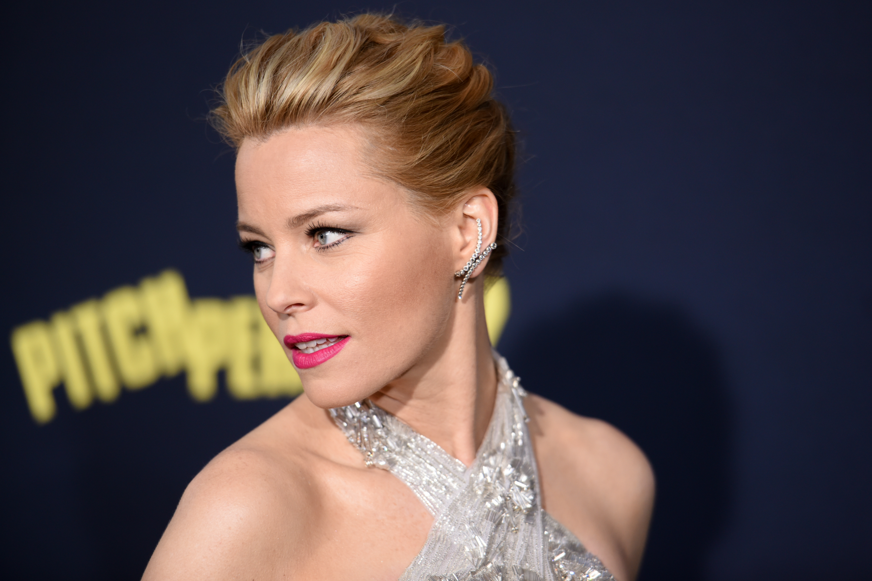 Elizabeth Banks at the Pitch Perfect 2 world premiere in Los Angeles.