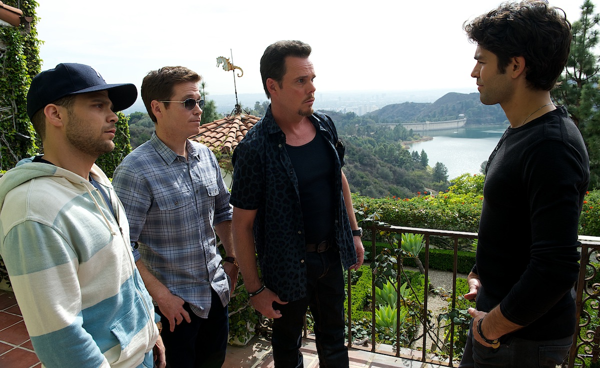A scene from the film 'Entourage'