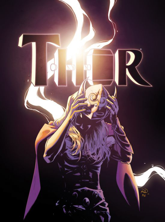 The cover of Thor #8