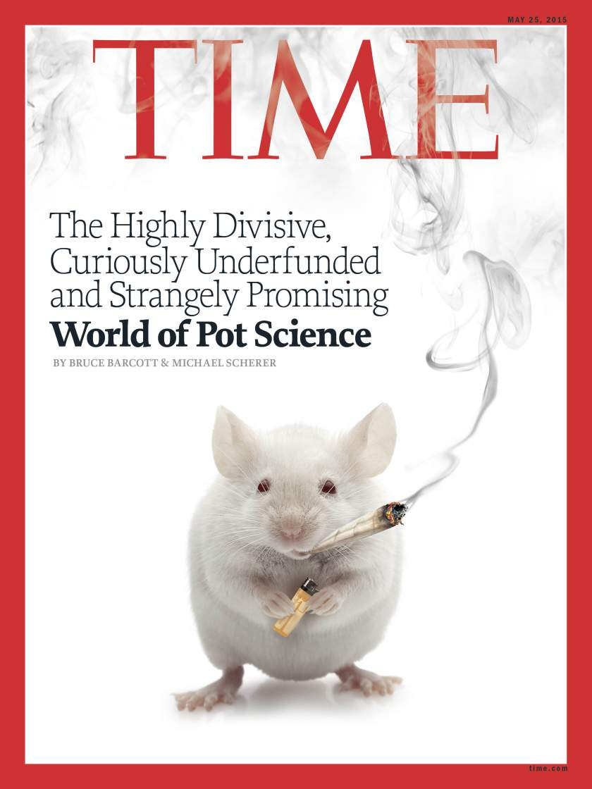 The May 25, 2015, cover of TIME