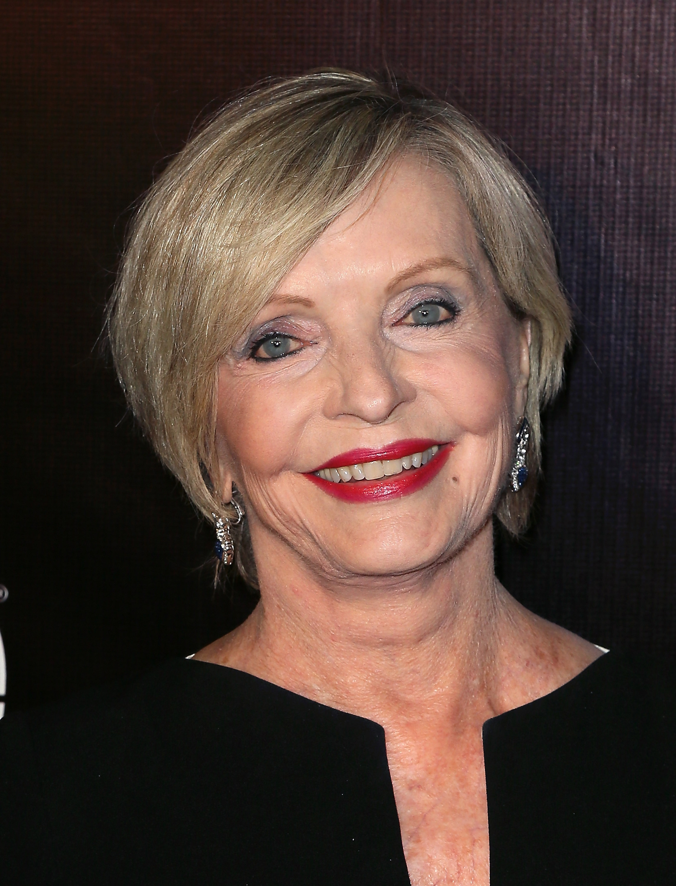Actress Florence Henderson attends the 10th anniversary of ABC's  Dancing with the Stars  at Greystone Manor on April 21, 2015 in West Hollywood, Calif.