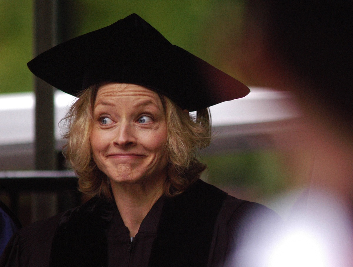 Jodie Foster at Commencement of the University of Pennsylvania on May 15, 2006 in Philadelphia