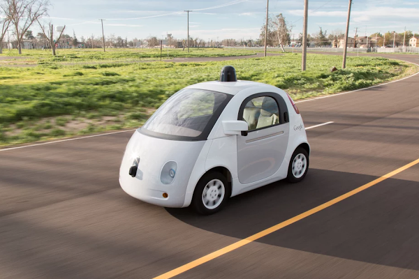 Google's self-driving vehicle