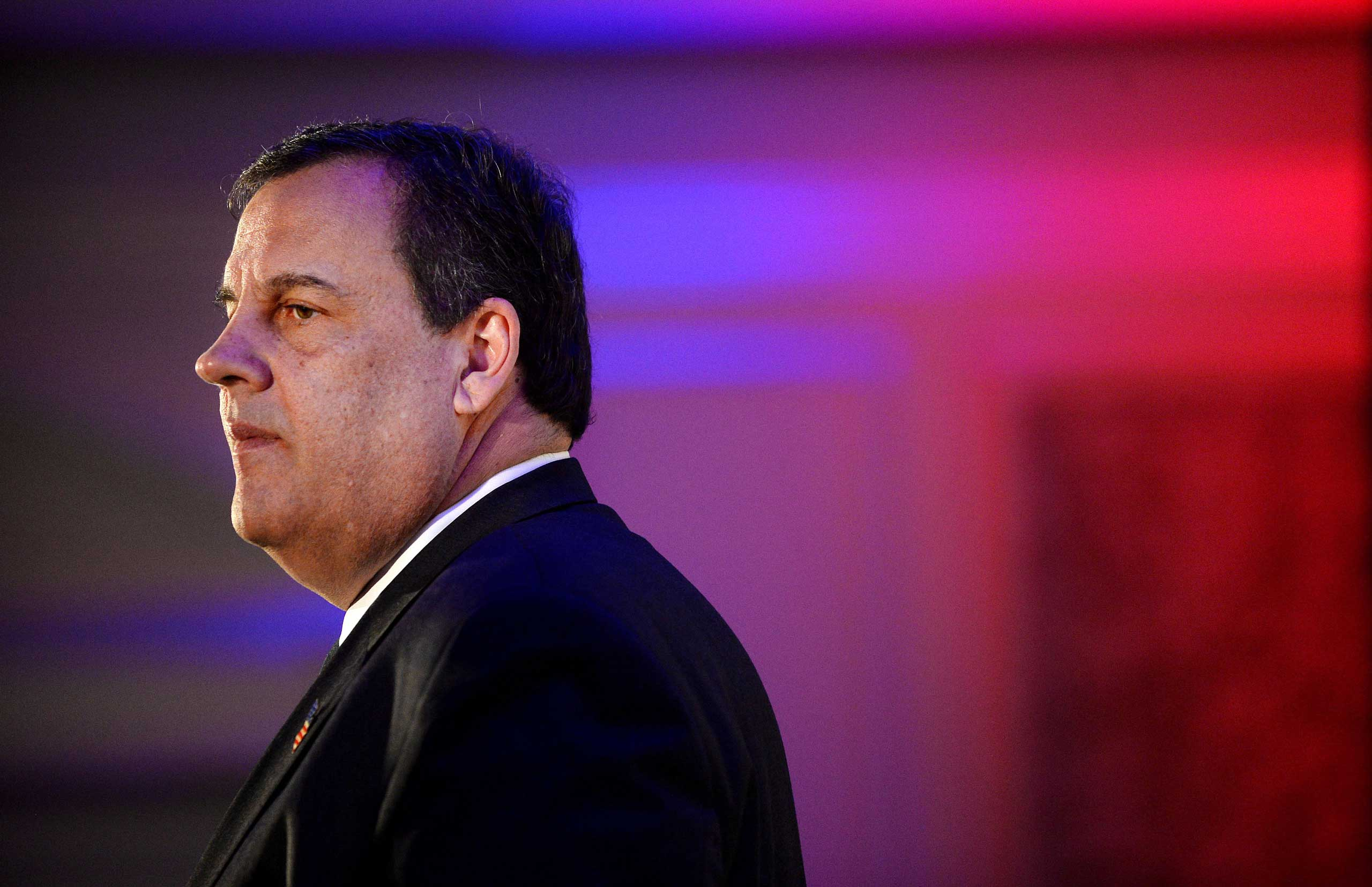 New Jersey Governor Chris Christie.