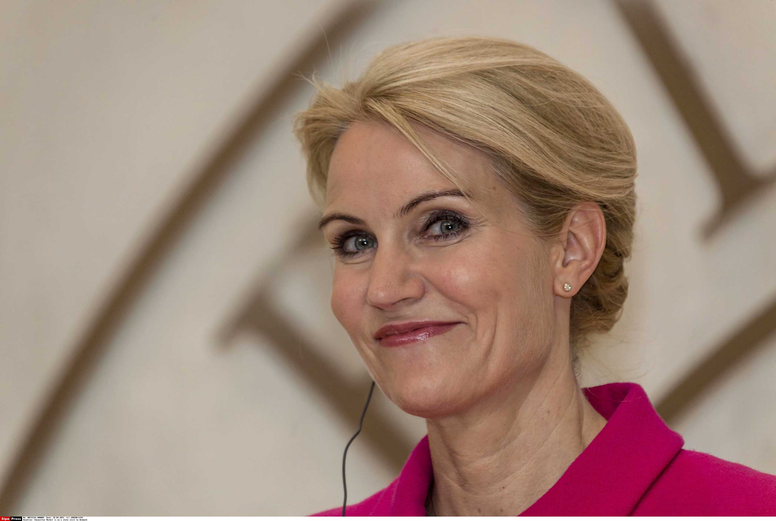 Danish Prime Minister Helle Thorning-Schmidt in April 2015.
