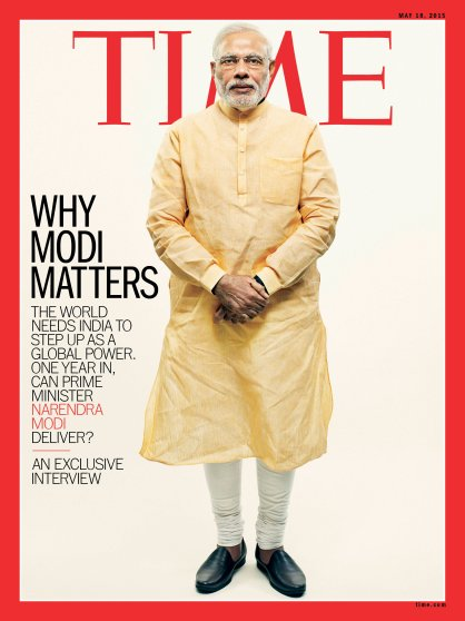 Why Narendra Modi Matters Time Magazine Cover