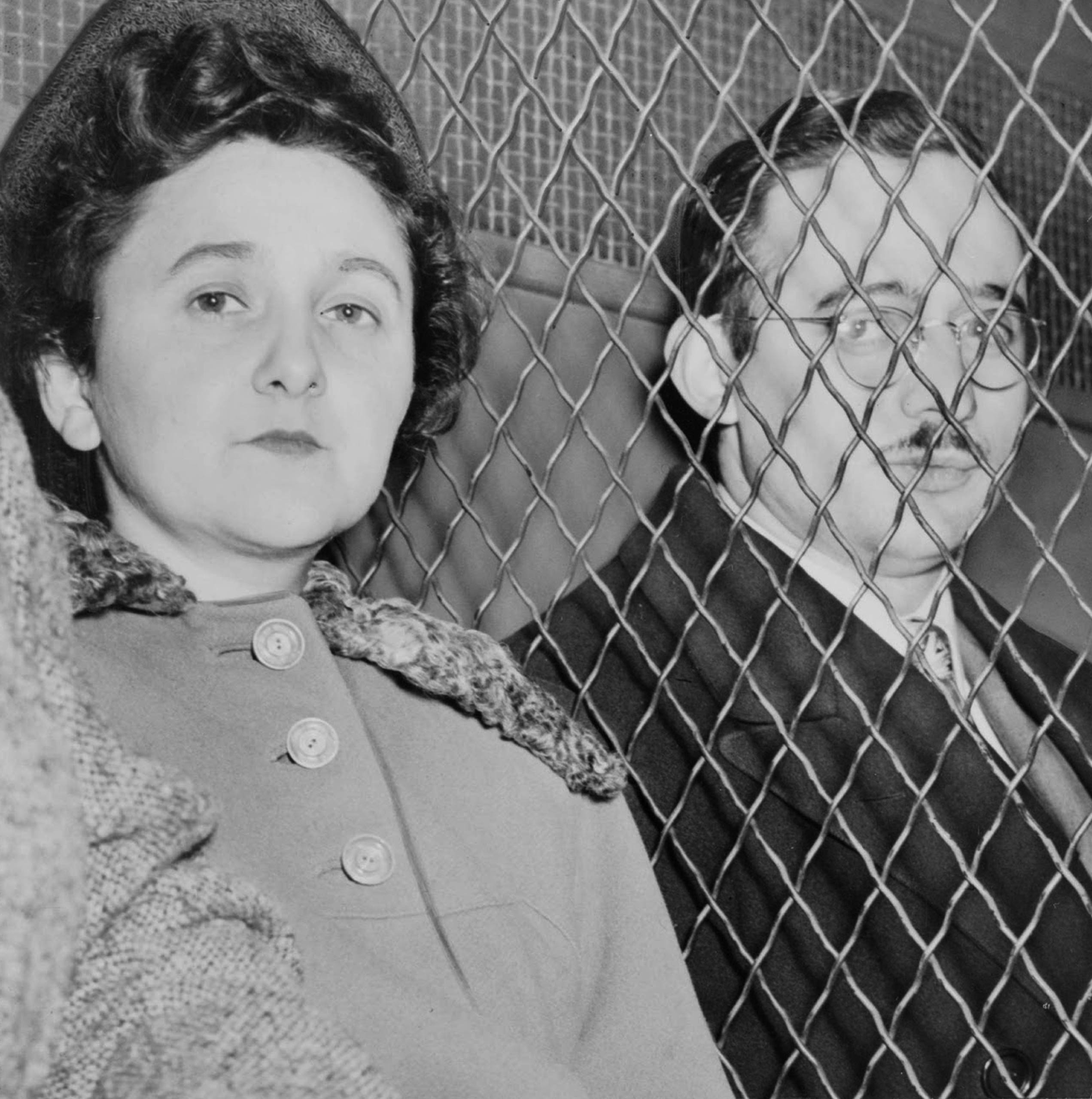 Ethel and Julius Rosenberg Artist: Anonymous