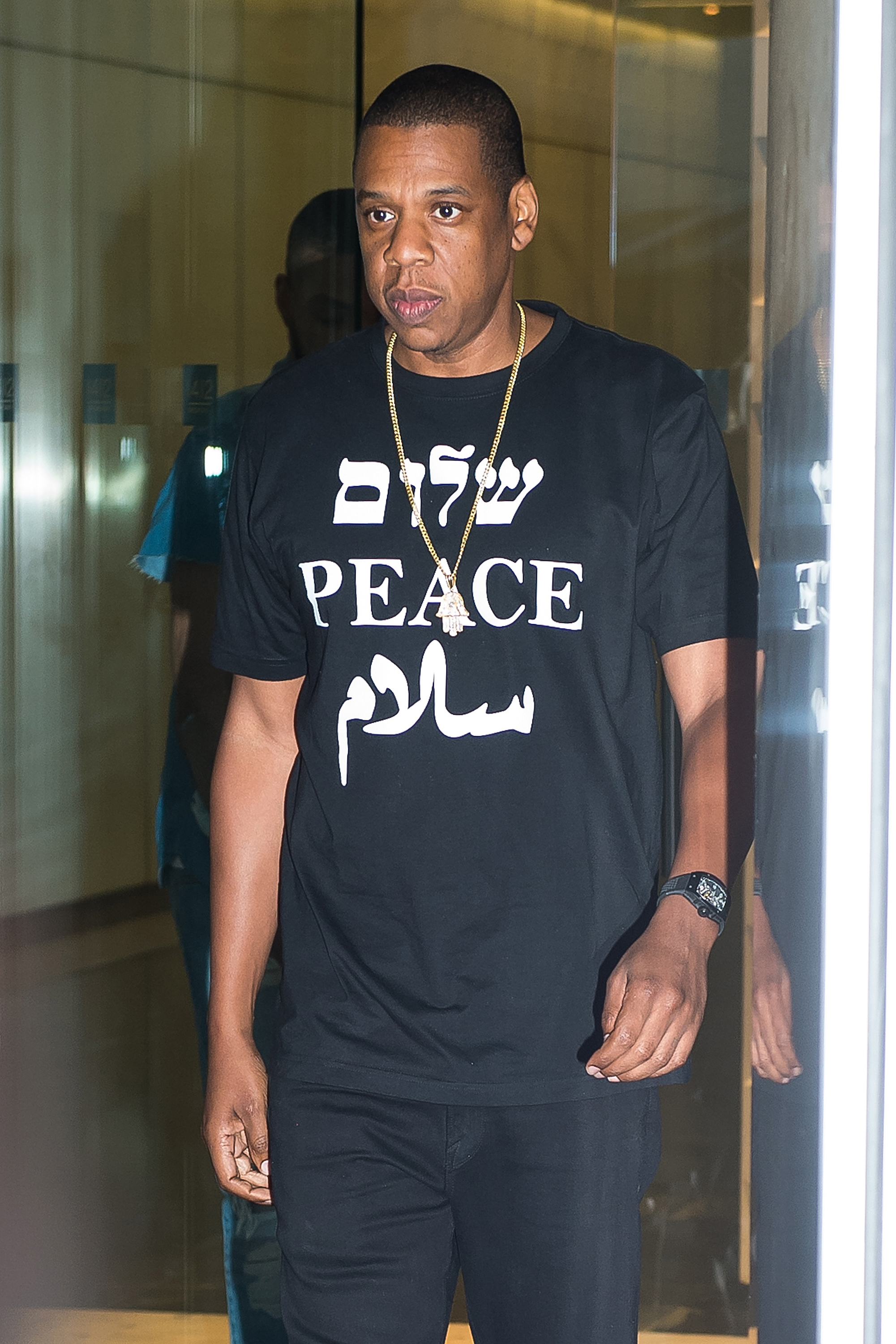 Rapper Jay-Z seen on the streets of Manhattan on May 11, 2015 in New York City.