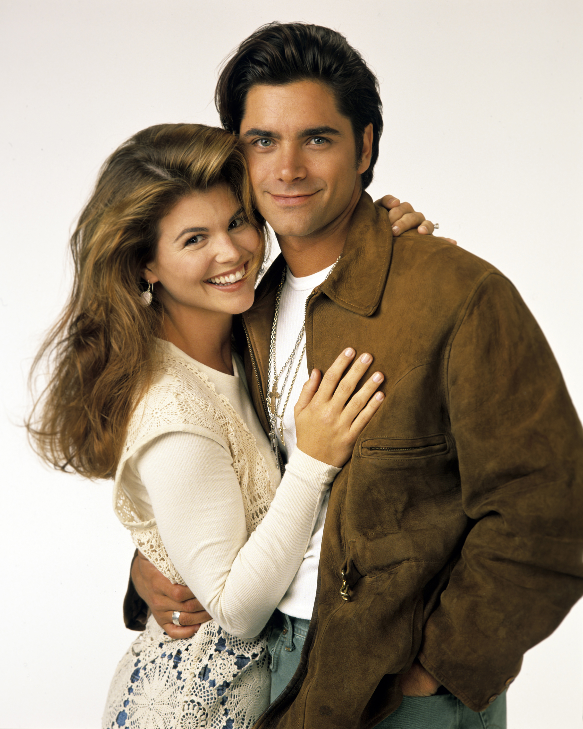 Lori Loughlin (Rebecca) and John Stamos (Jesse), on Sept. 14, 1993.