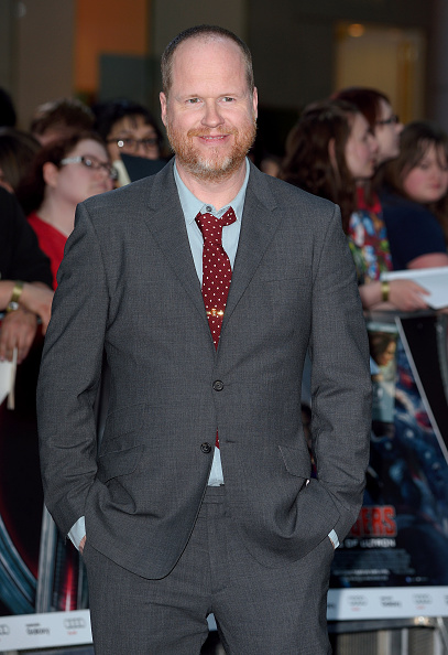 Joss Whedon at the European premiere of  The Avengers: Age Of Ultron   on April 21, 2015 in London.