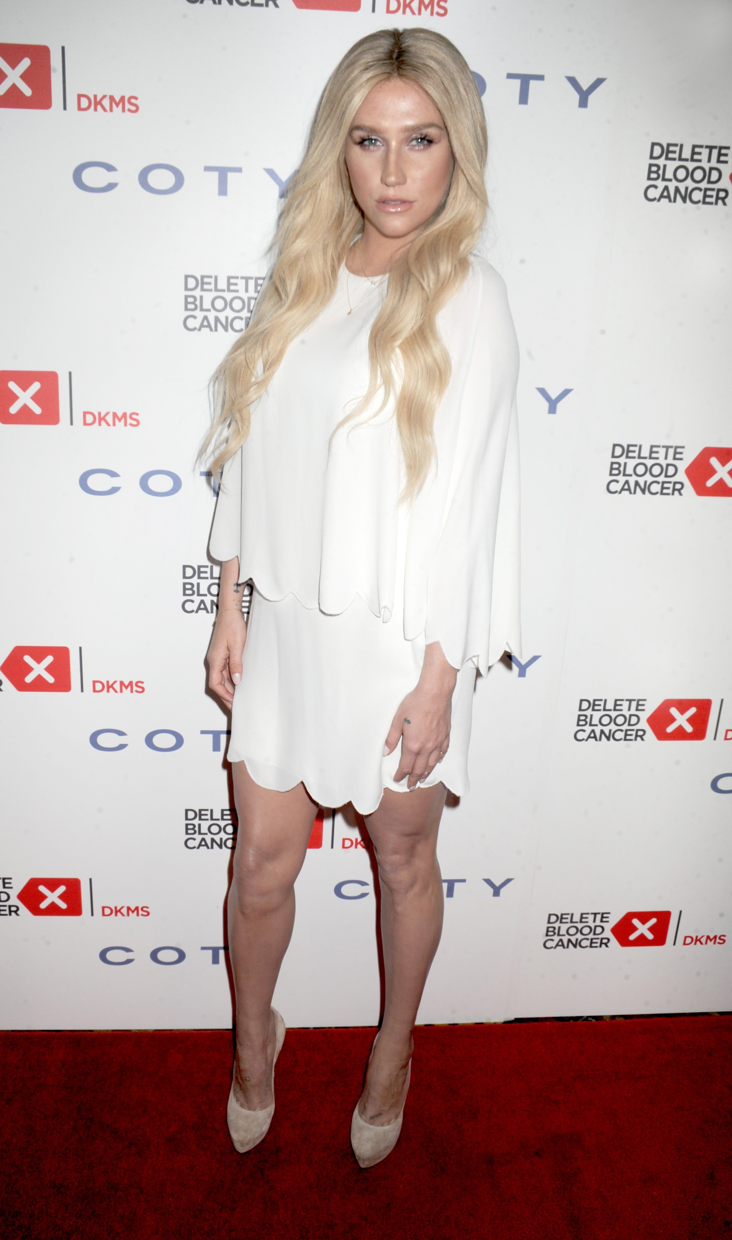 Kesha attends the 9th Annual Delete Blood Cancer Gala at Cipriani, Wall Street on April 16, 2015 in New York City.