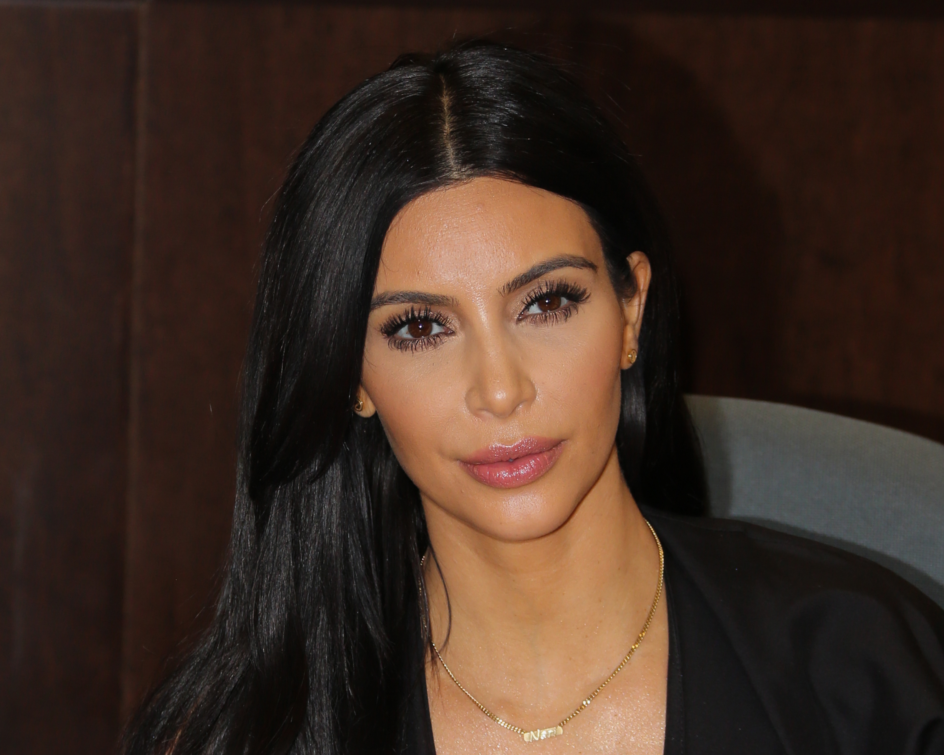 Reality TV Personality Kim Kardashian signs copies of her new book   Selfish  at Barnes & Noble bookstore at The Grove on May 7, 2015 in Los Angeles.