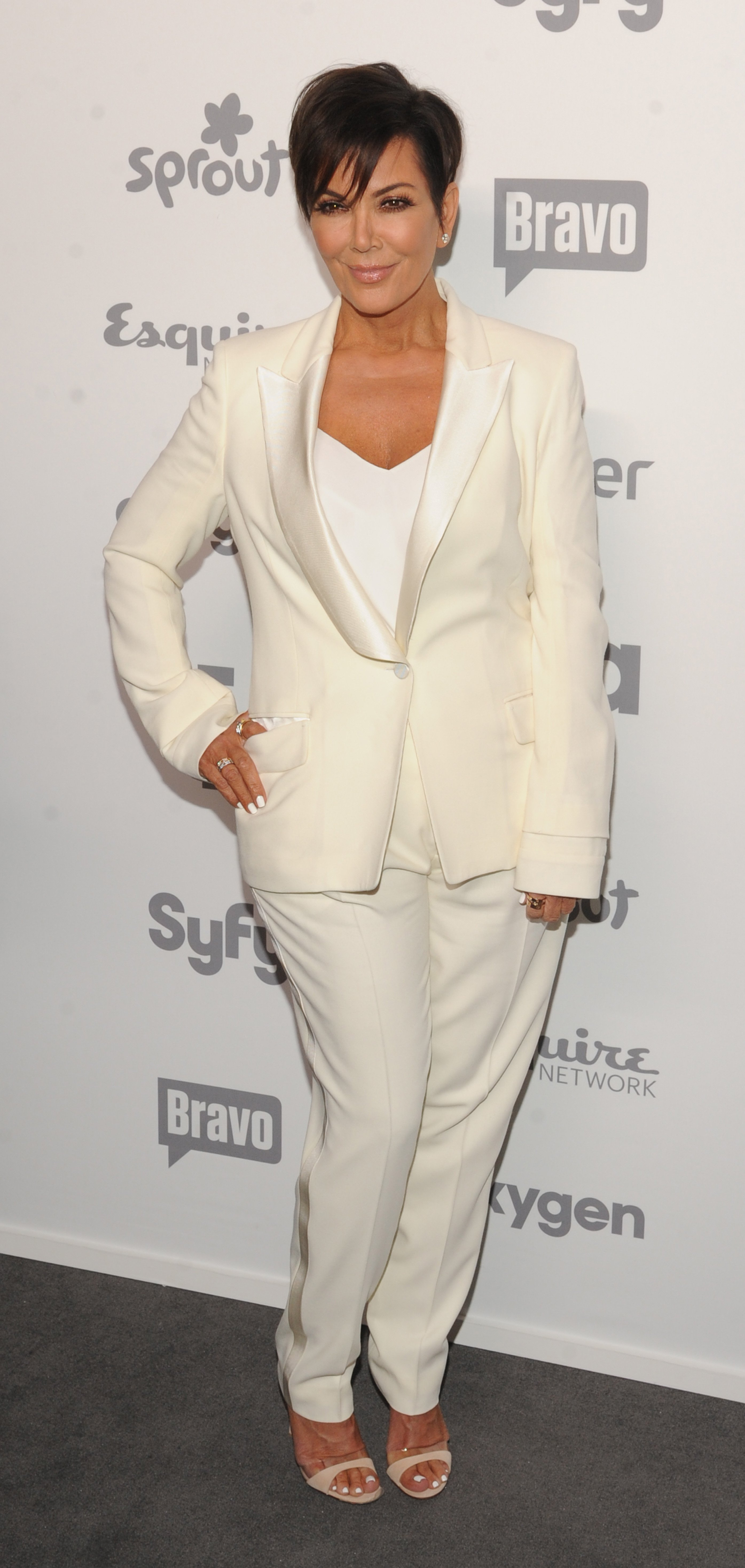 Kris Jenner attend the 2015 NBCUniversal Cable Entertainment Upfront at The Jacob K. Javits Convention Center on May 14, 2015 in New York City.