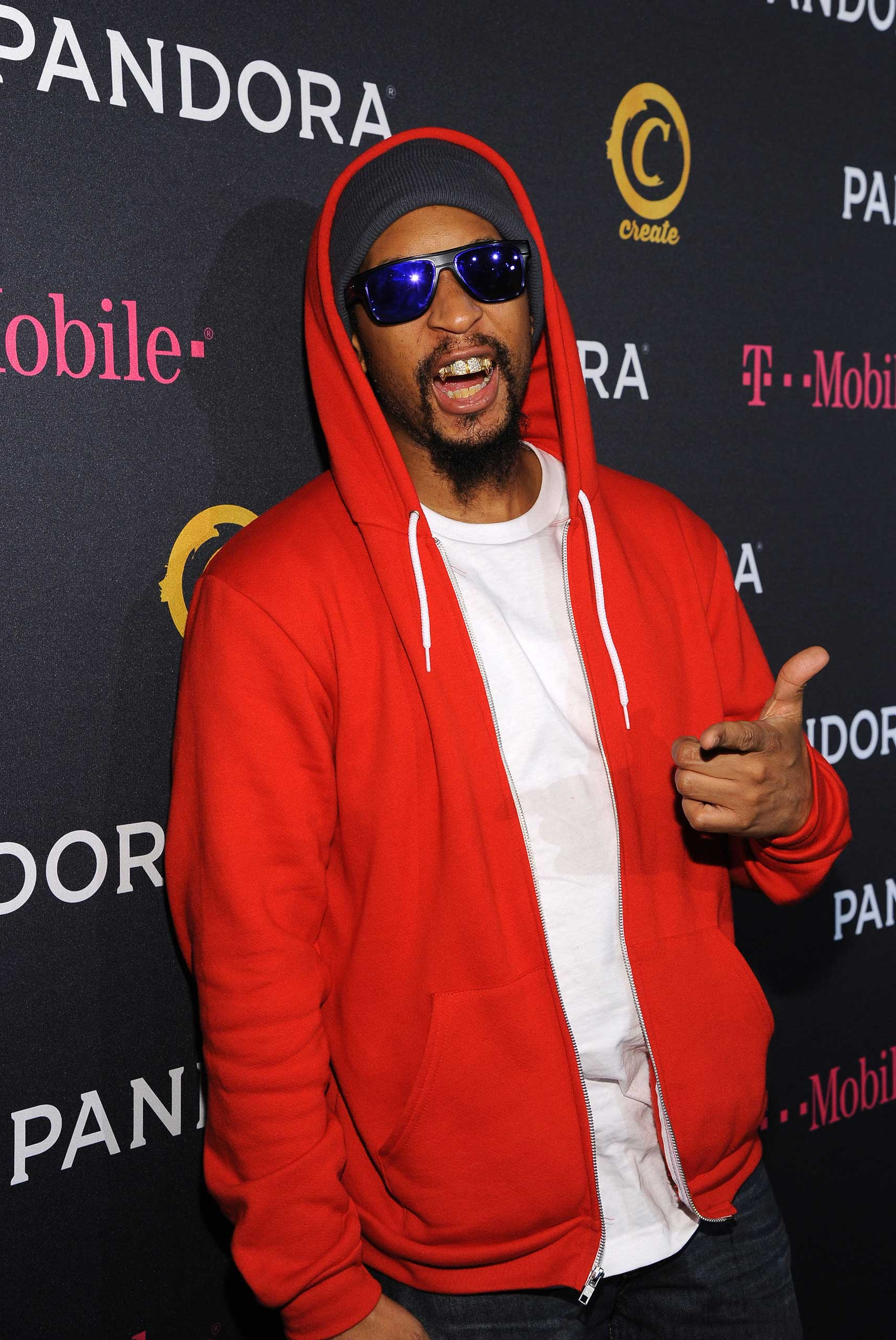 Rapper Lil Jon arrives for the PANDORA GRAMMY after party featuring Lil Jon in Hollywood, on Feb 8, 2015