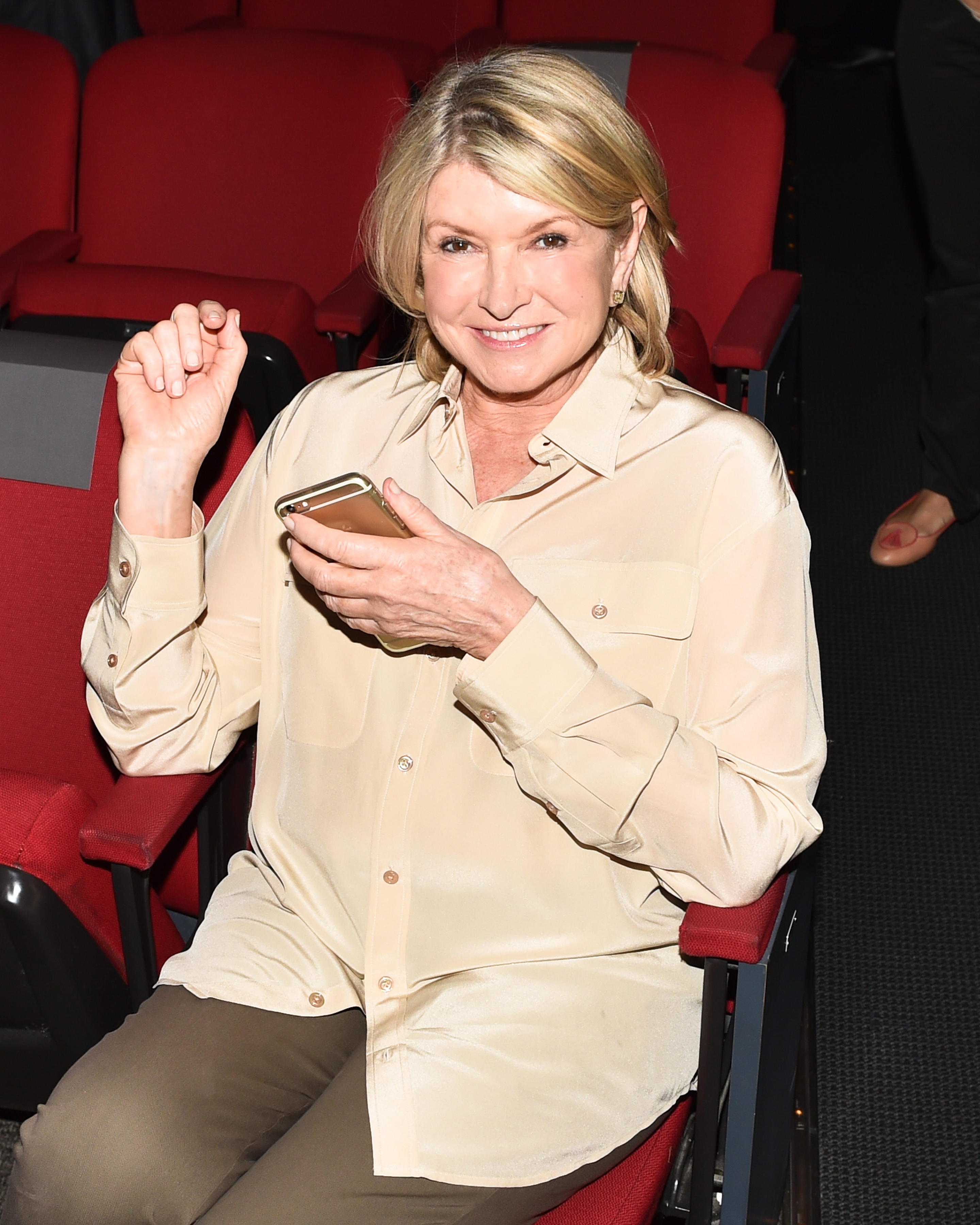 Martha Stewart attends an event honoring Jean Nouvel at the Museum of Modern Art in New York City on May 11, 2015.