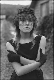 Tiny in her Halloween costume, Seattle, Washington, 1983