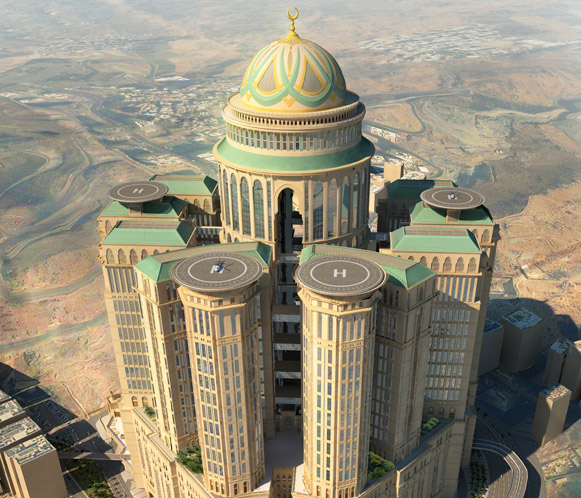 Abraj Kudai World S Gest Hotel To