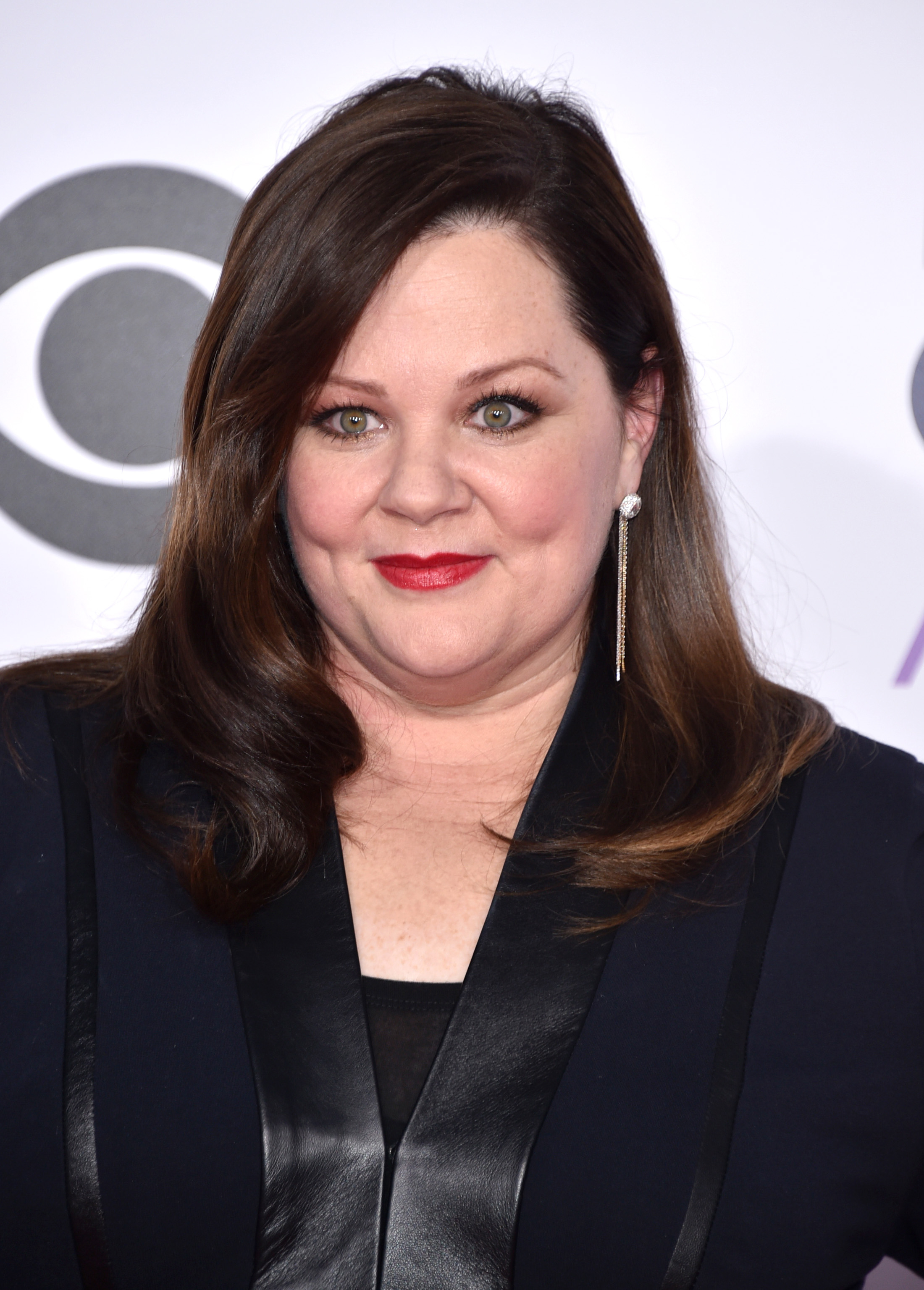 Melissa McCarthy arrives at the People's Choice Awards at the Nokia Theatre on Jan. 7, 2015, in Los Angeles.