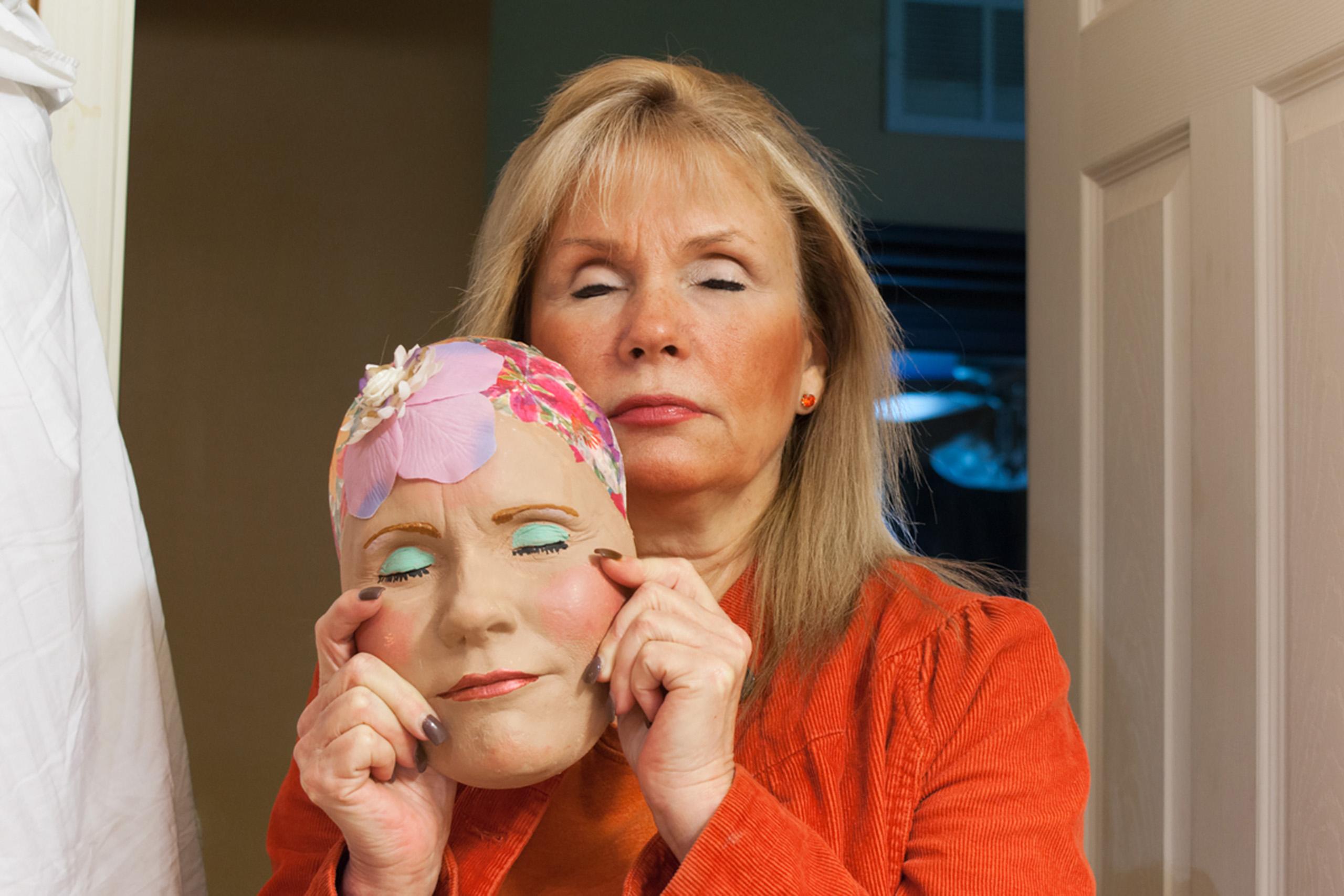 Mom's mask, 2011.