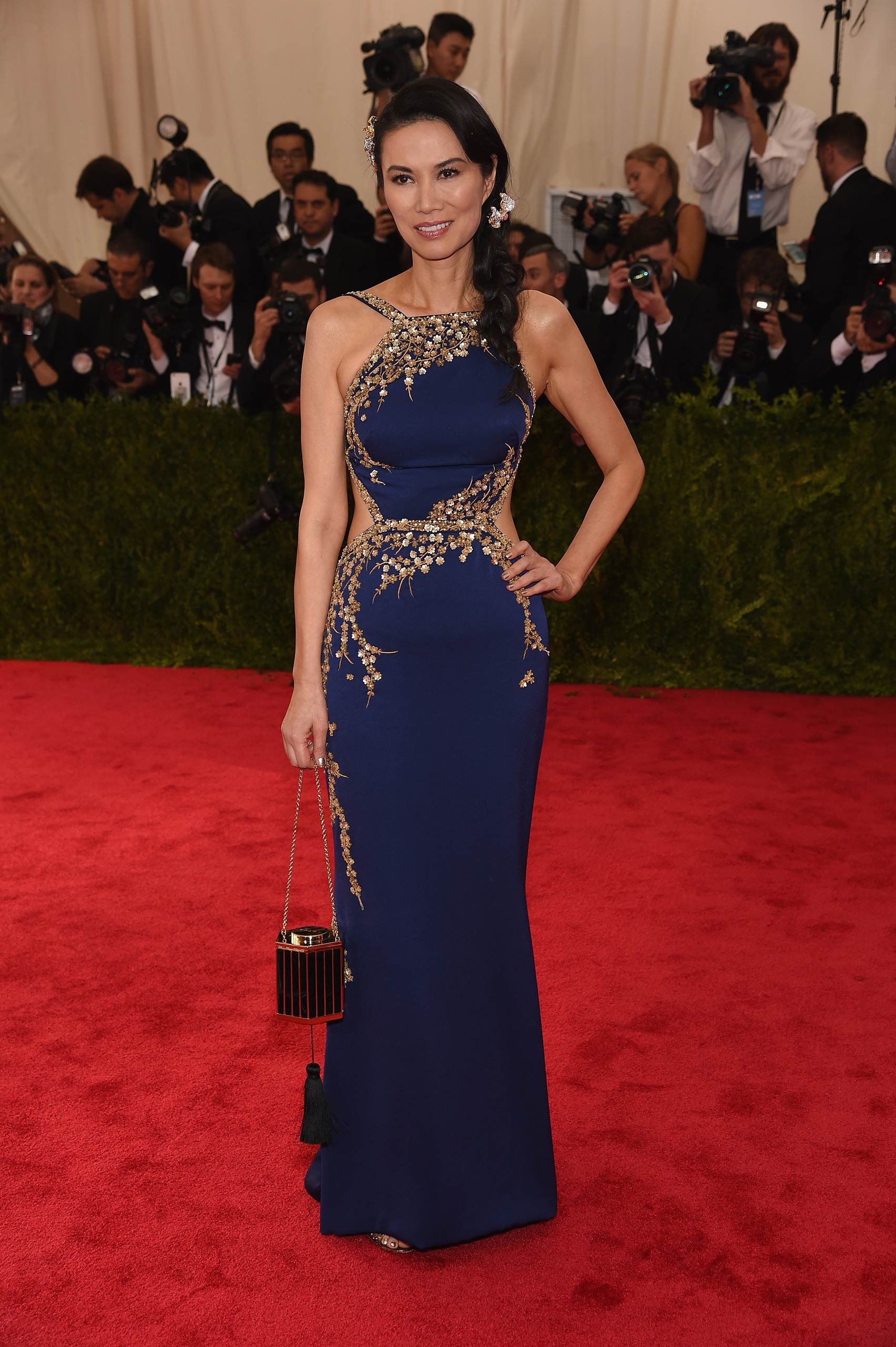 "Wendi Murdoch attends the ""China: Through The Looking Glass"" Costume Institute Benefit Gala at the Metropolitan Museum of Art on May 4, 2015 in New York."