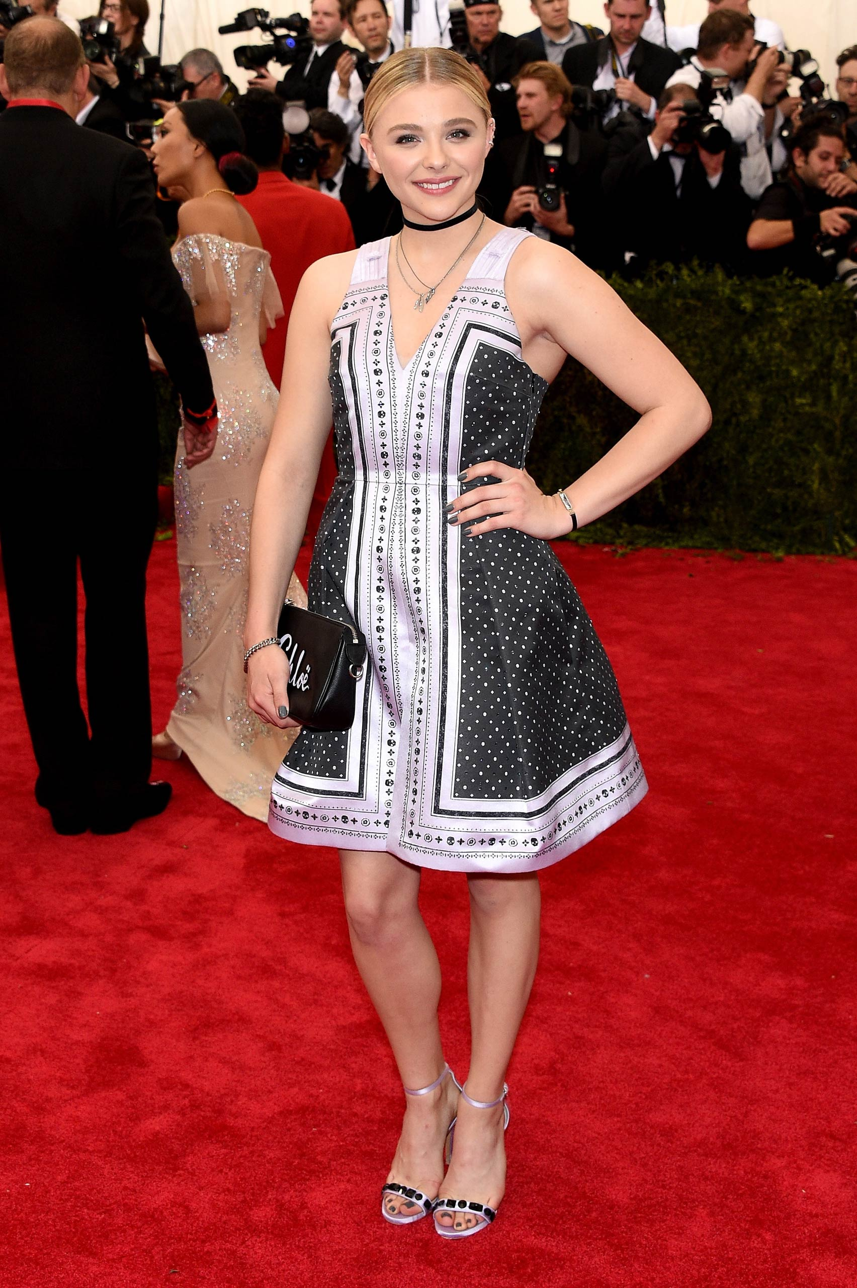 "Chloe Grace Moretz attends the ""China: Through The Looking Glass"" Costume Institute Benefit Gala at the Metropolitan Museum of Art on May 4, 2015 in New York."