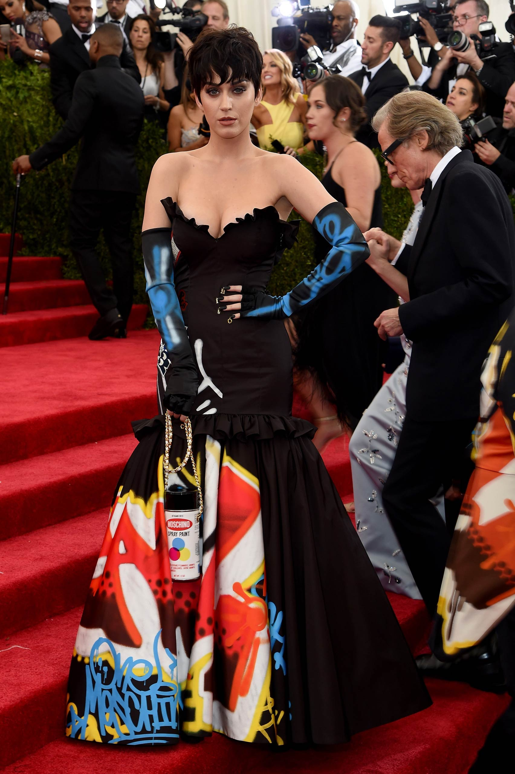 "Katy Perry attends the ""China: Through The Looking Glass"" Costume Institute Benefit Gala at the Metropolitan Museum of Art on May 4, 2015 in New York."