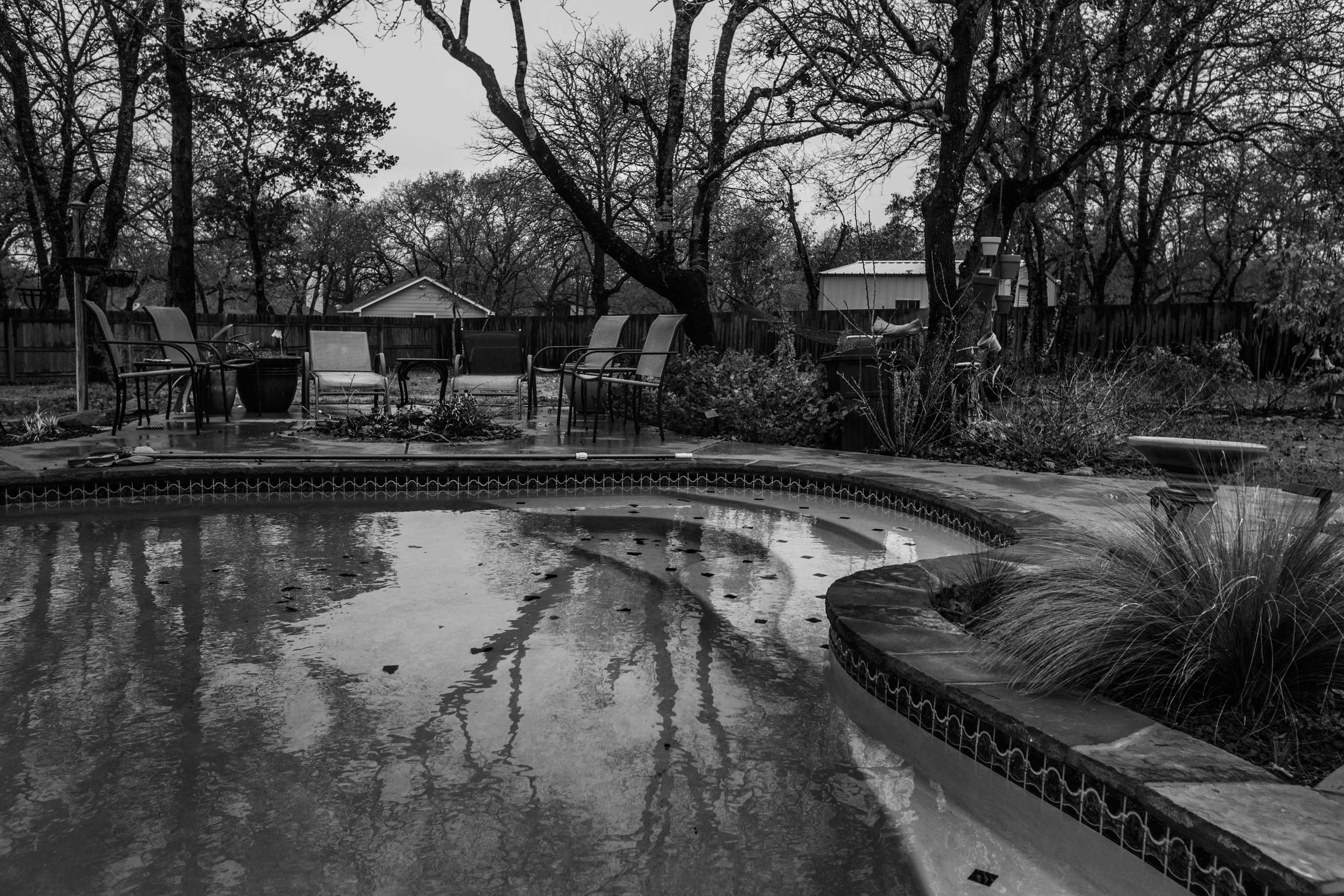 When his PTSD grew overwhelming, Clay Ward took his gun, waded into the pool behind their house, and pulled the trigger. A year later, his wife Sabine tried to finish a bottle of pills he had left behind.