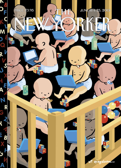 The June 18 &amp; 25, 2001 issue of the <i>New Yorker</i>, published at a time when the Internet and personal computers became mainstream.