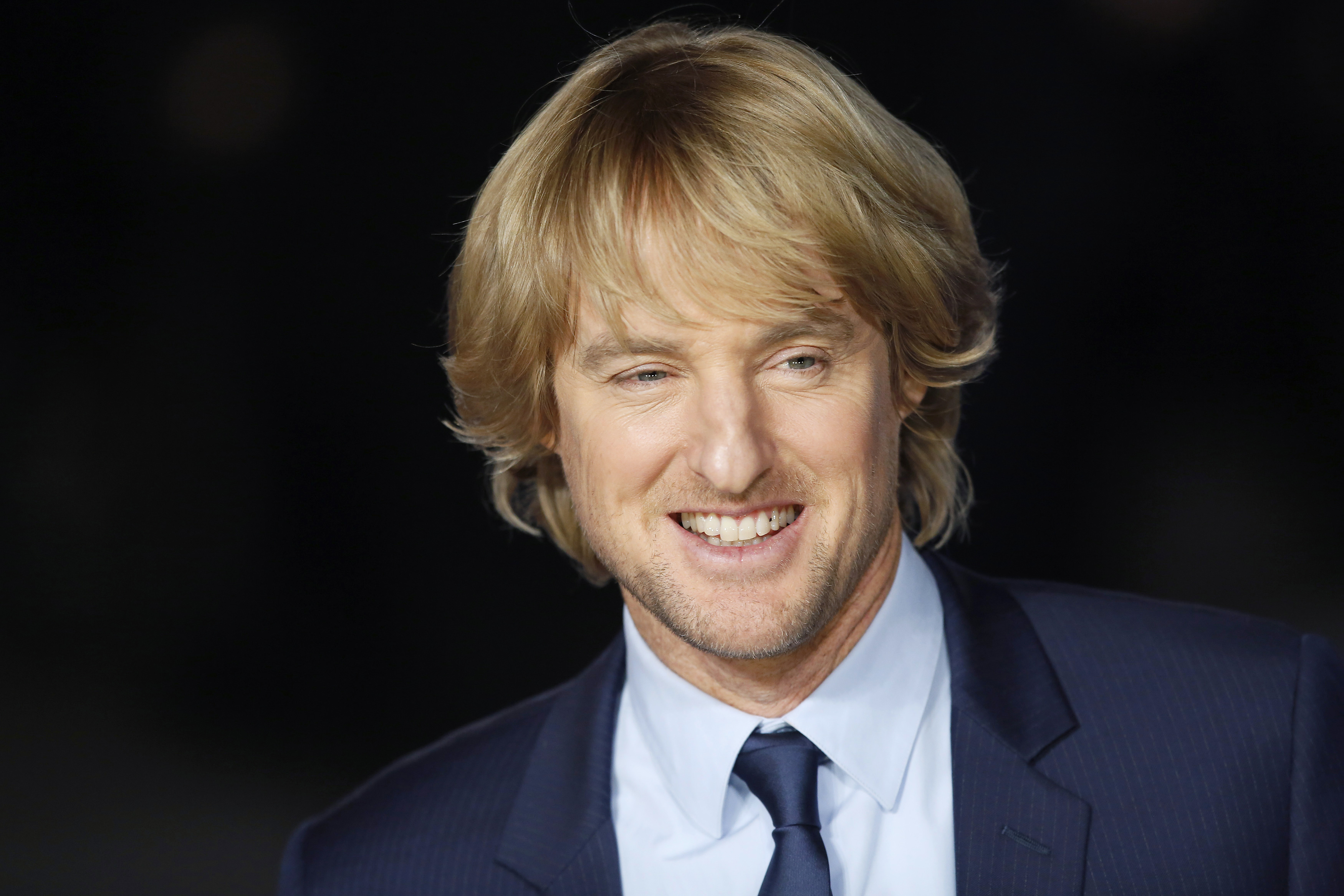 Actor Owen Wilson arrives for the European premiere of  Night at the Museum: Secret of the Tomb  at Leicester Square in London December 15, 2014.