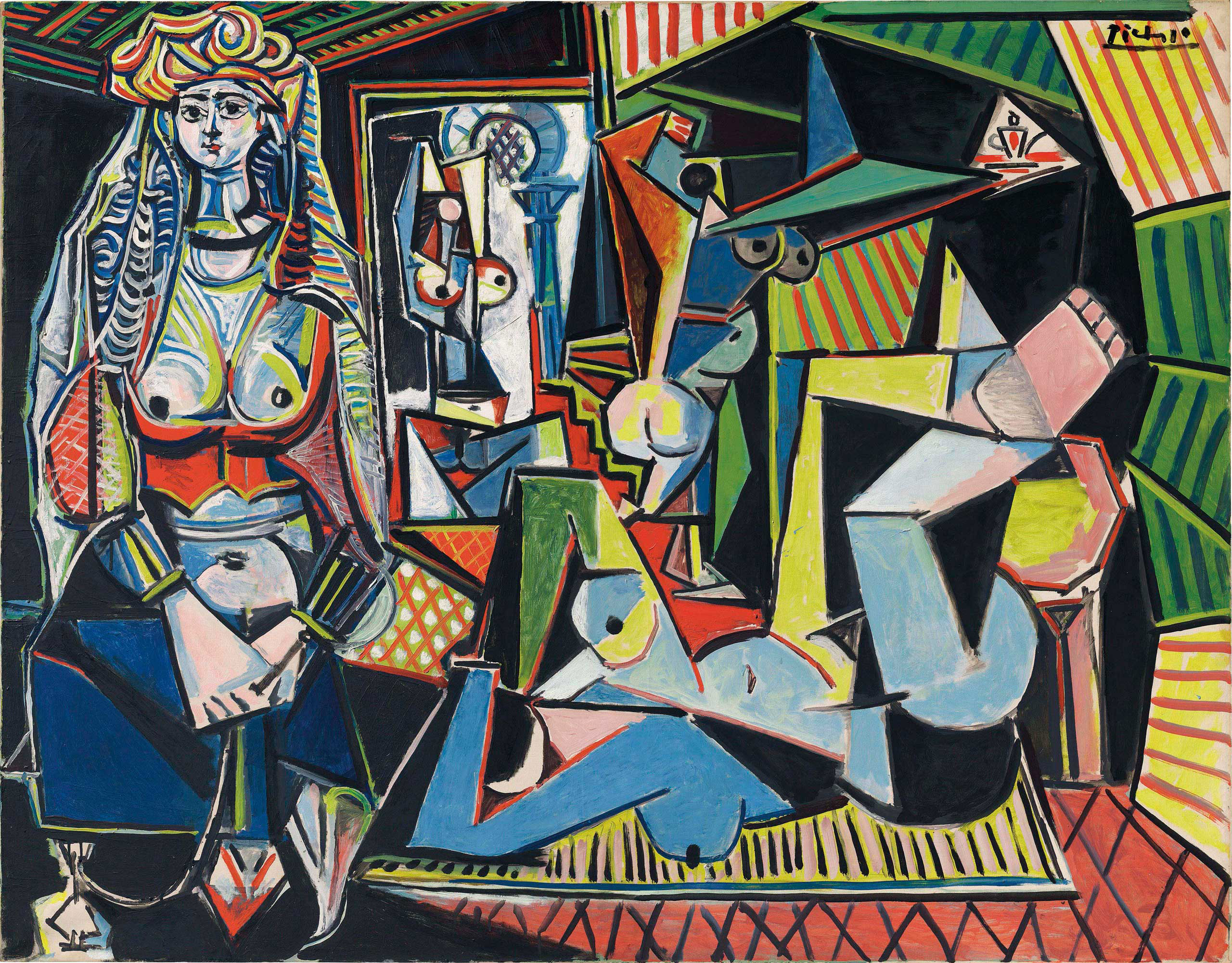Pablo Picasso's  Women of Algiers (Version O),  auctioned at Christie's in New York City on May 11, 2015.