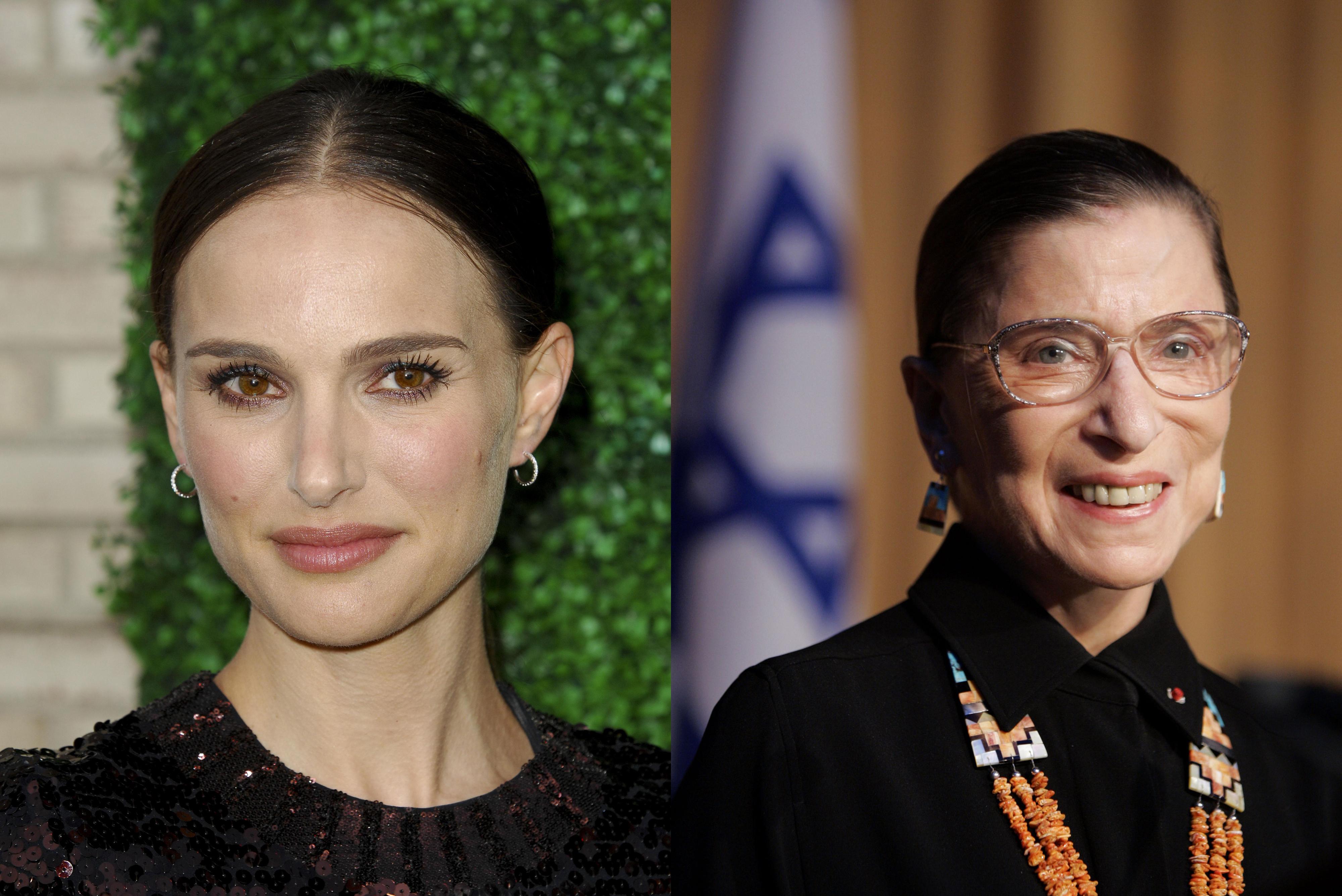 Natalie Portman, Ruth Bader Ginsberg