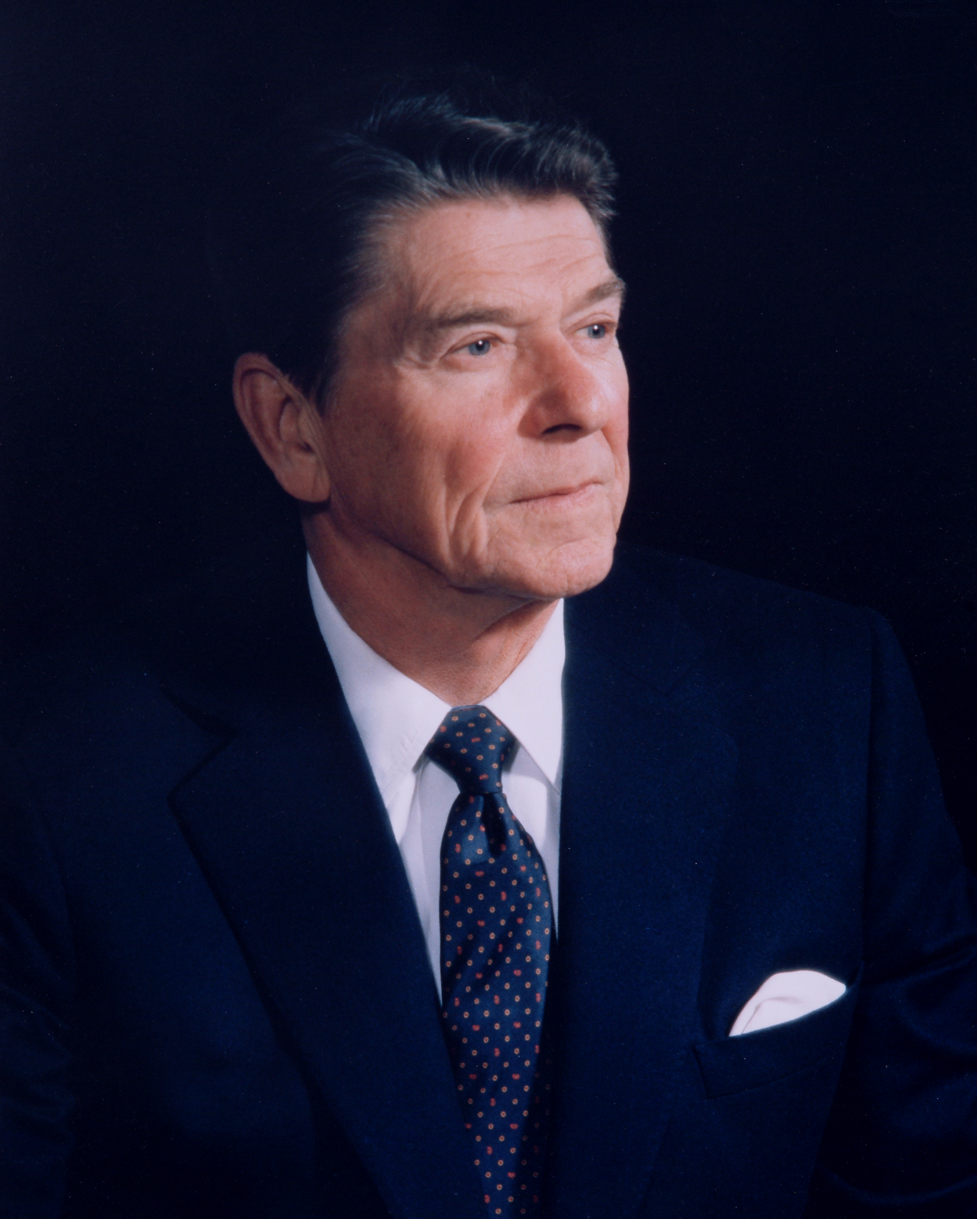 President Ronald Reagan   in Washington in 1983.