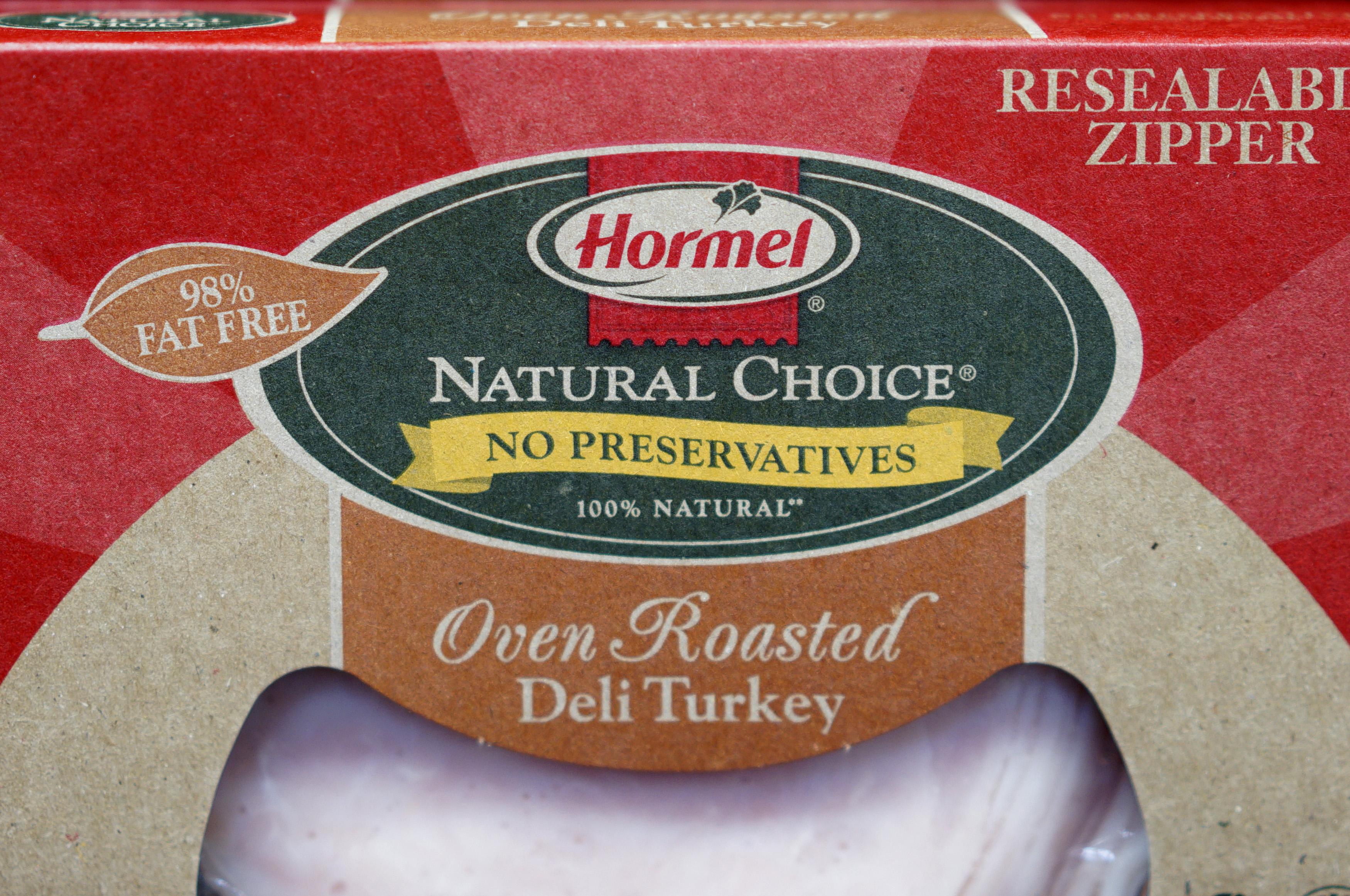 Hormel sliced turkey