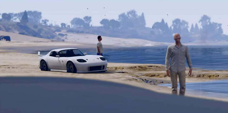 Furious 7 Grand Theft Auto