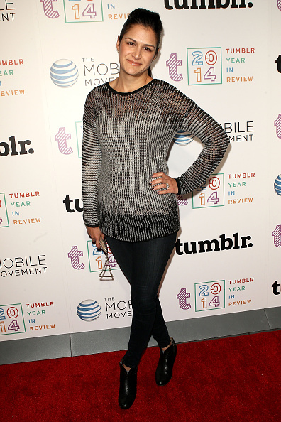 Director of Media for Tumblr Sima Sistani at Tumblr's 2014 Year In Review Party on December 10, 2014 in  New York City.