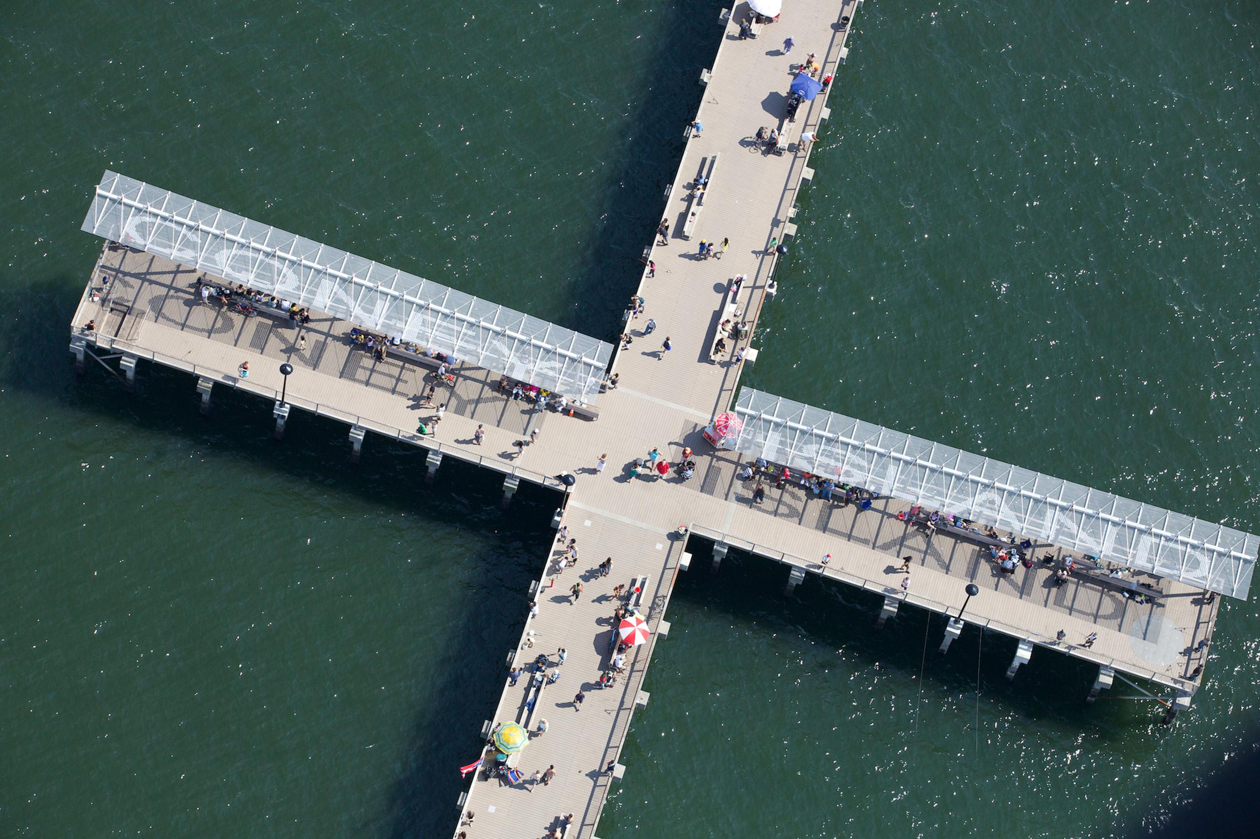 New Boardwalk, Coney Island, Brooklyn.